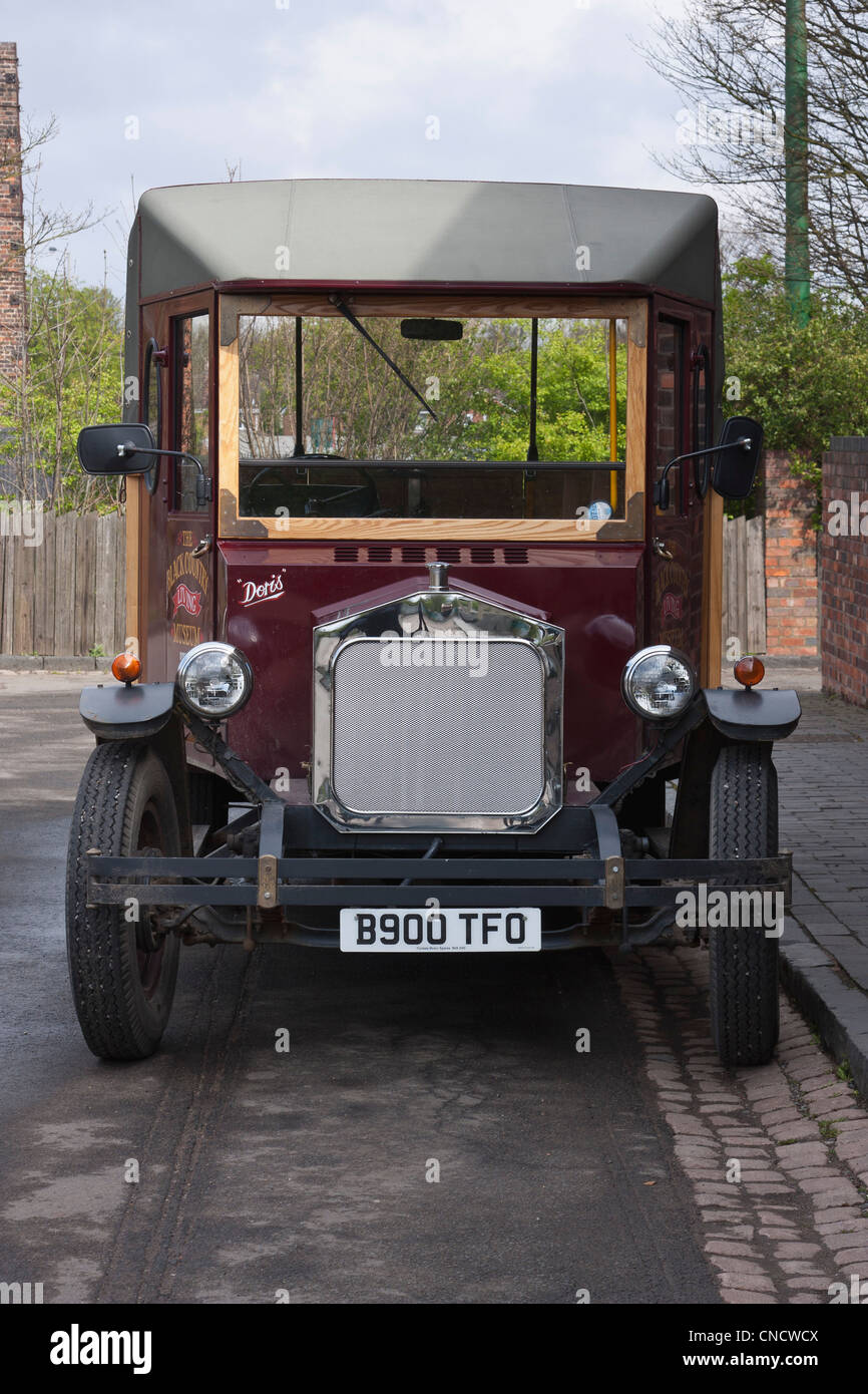 , taken at The Black Country Museum, Dudley, West Midlands, UK - Stock Image