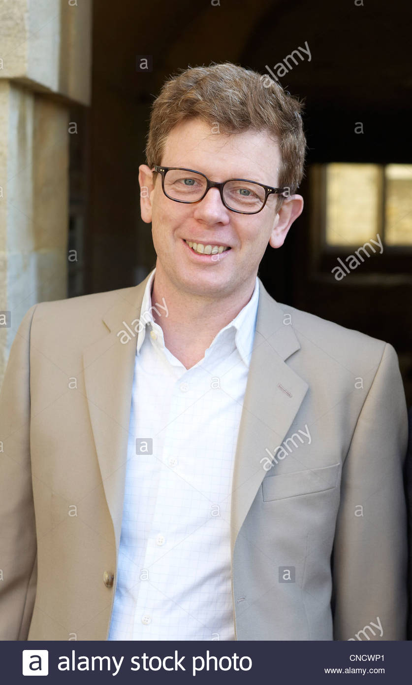 Mark Bell, BBC Commissioning Editor Arts at The Oxford Literary Festival at Christchurch College Oxford . Credit - Stock Image