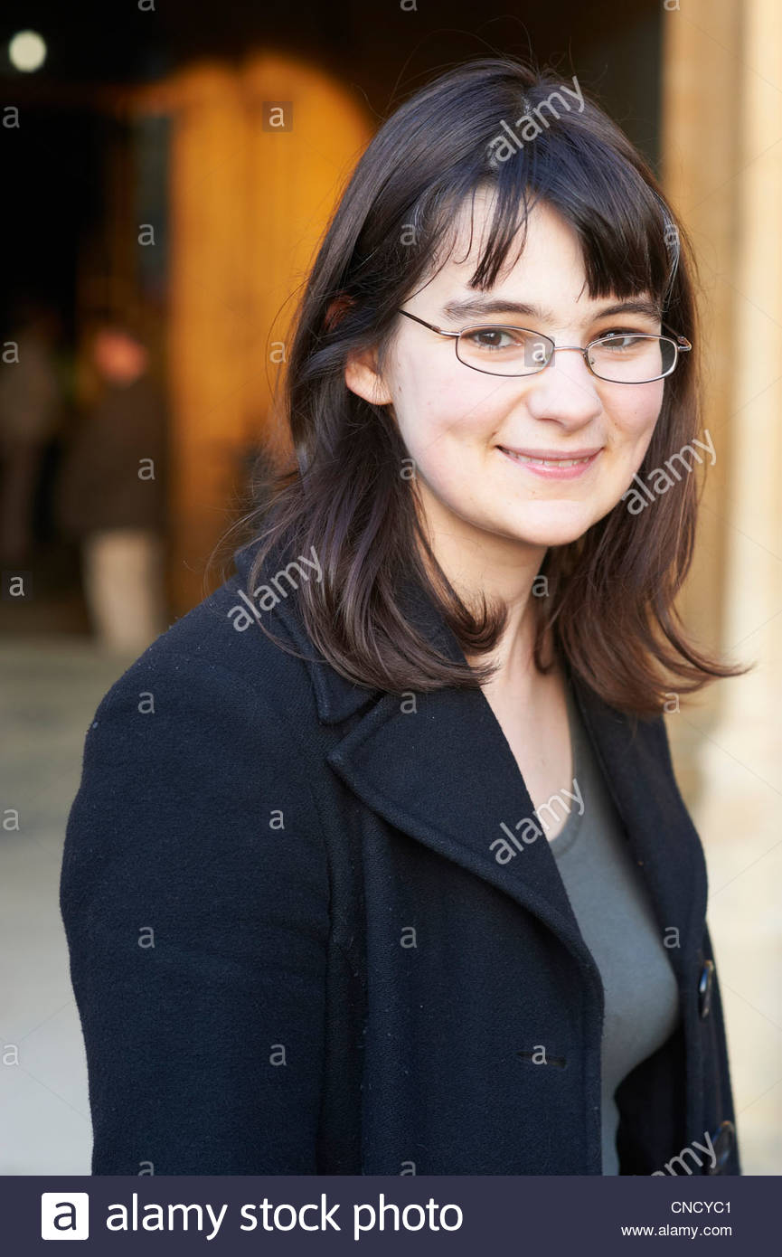 Sally Nicholls , novelist and writer of Ways To Live Forever at The Oxford Literary Festival at Christchurch College - Stock Image