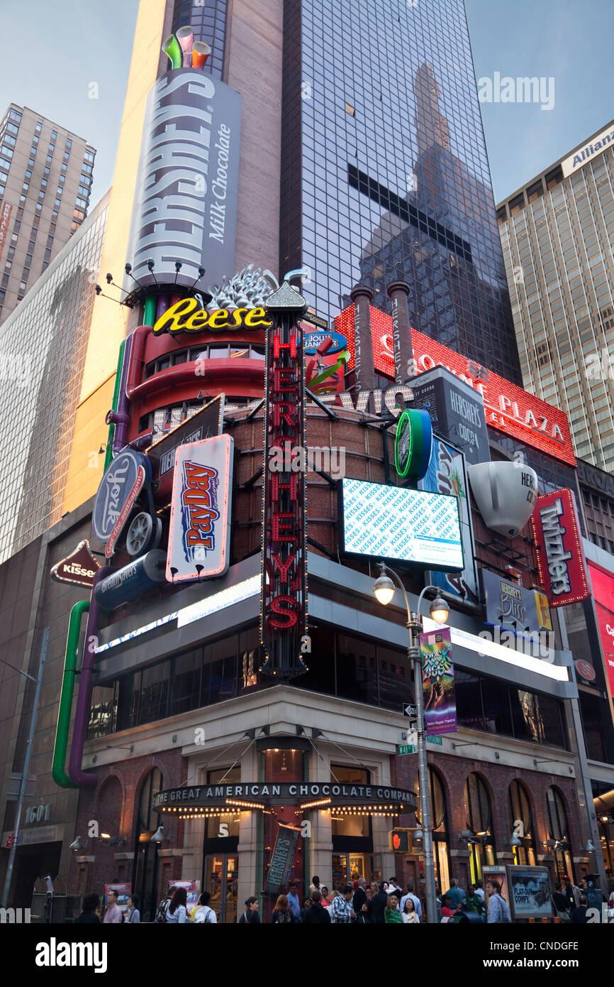 Hershey's Store At 1593 Broadway In Manhattan, New York