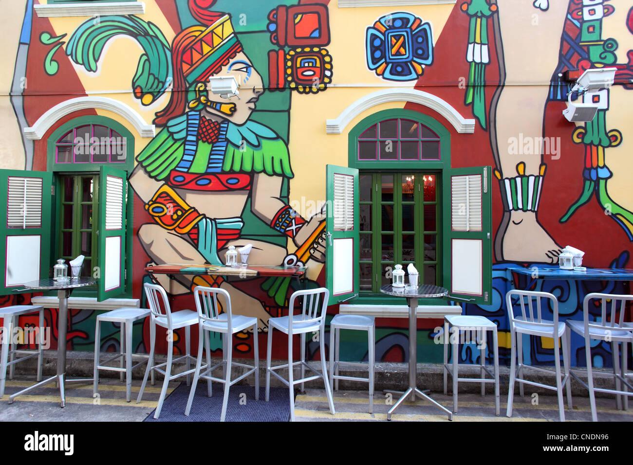 Exterior Wall Mural Stock Photos Exterior Wall Mural Stock Images