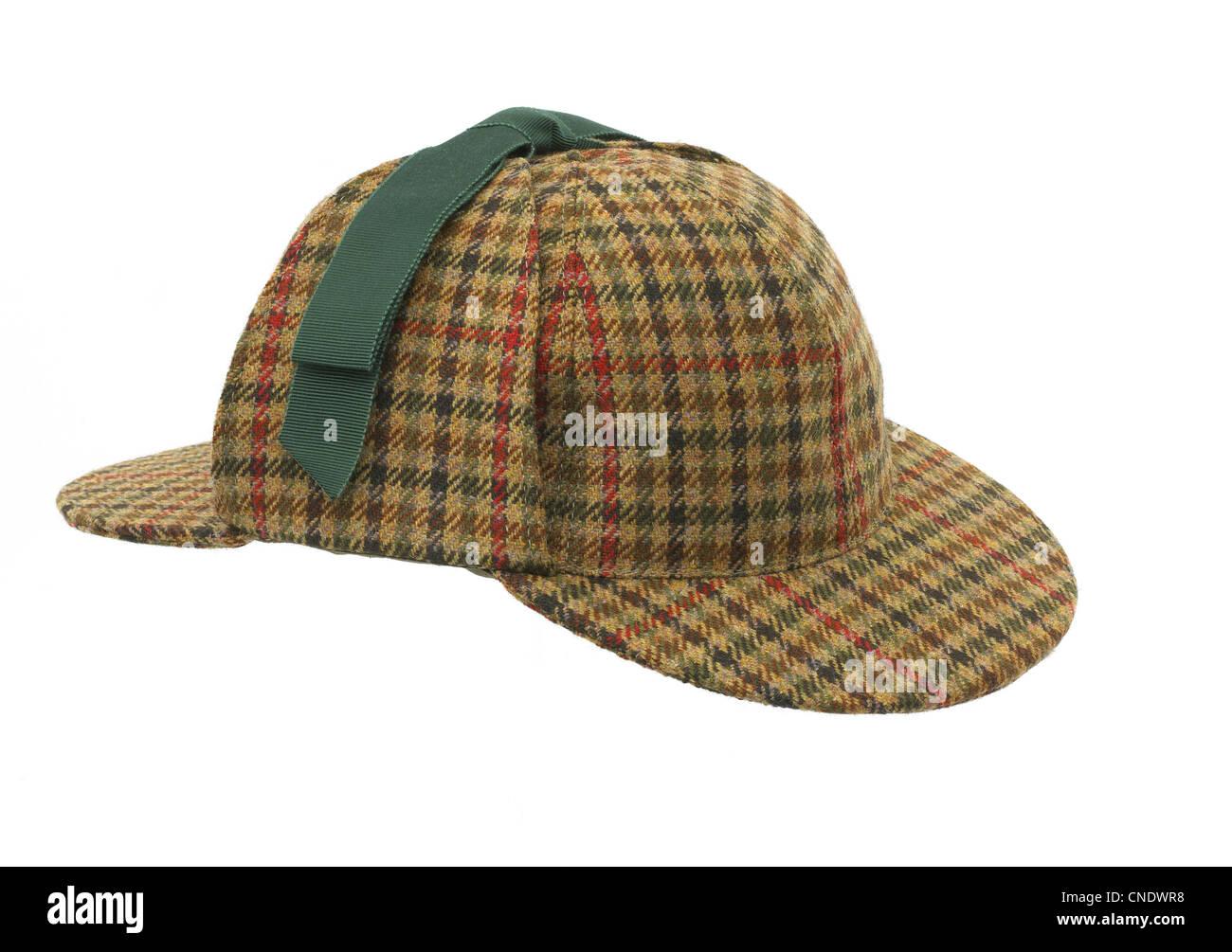 One deerstalker hat Stock Photo  47634140 - Alamy cc15d350907