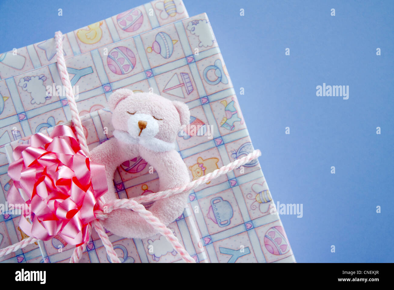 Baby shower gifts - Stock Image