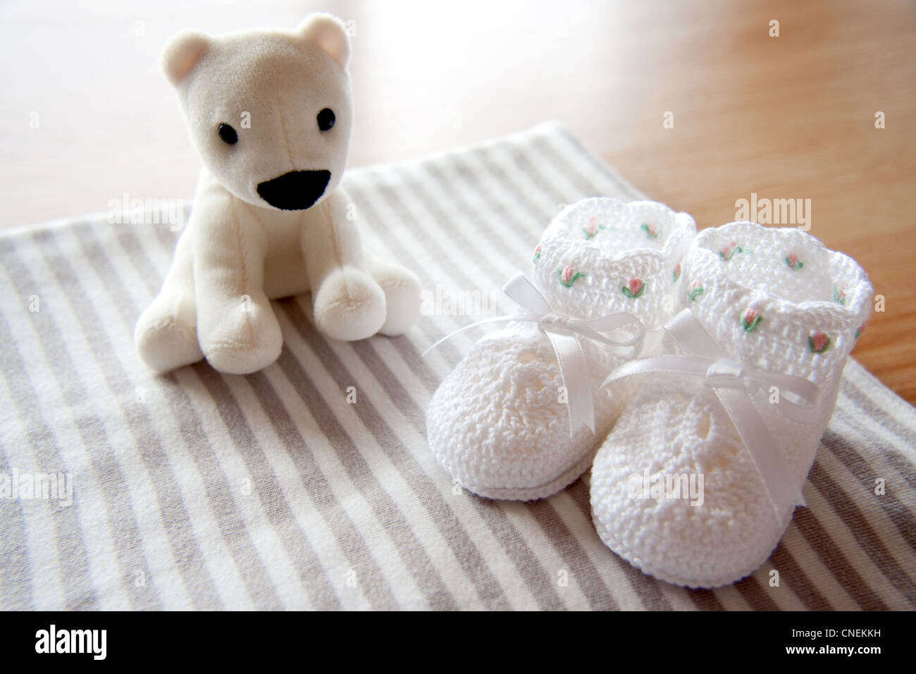 Baby's gifts - Stock Image