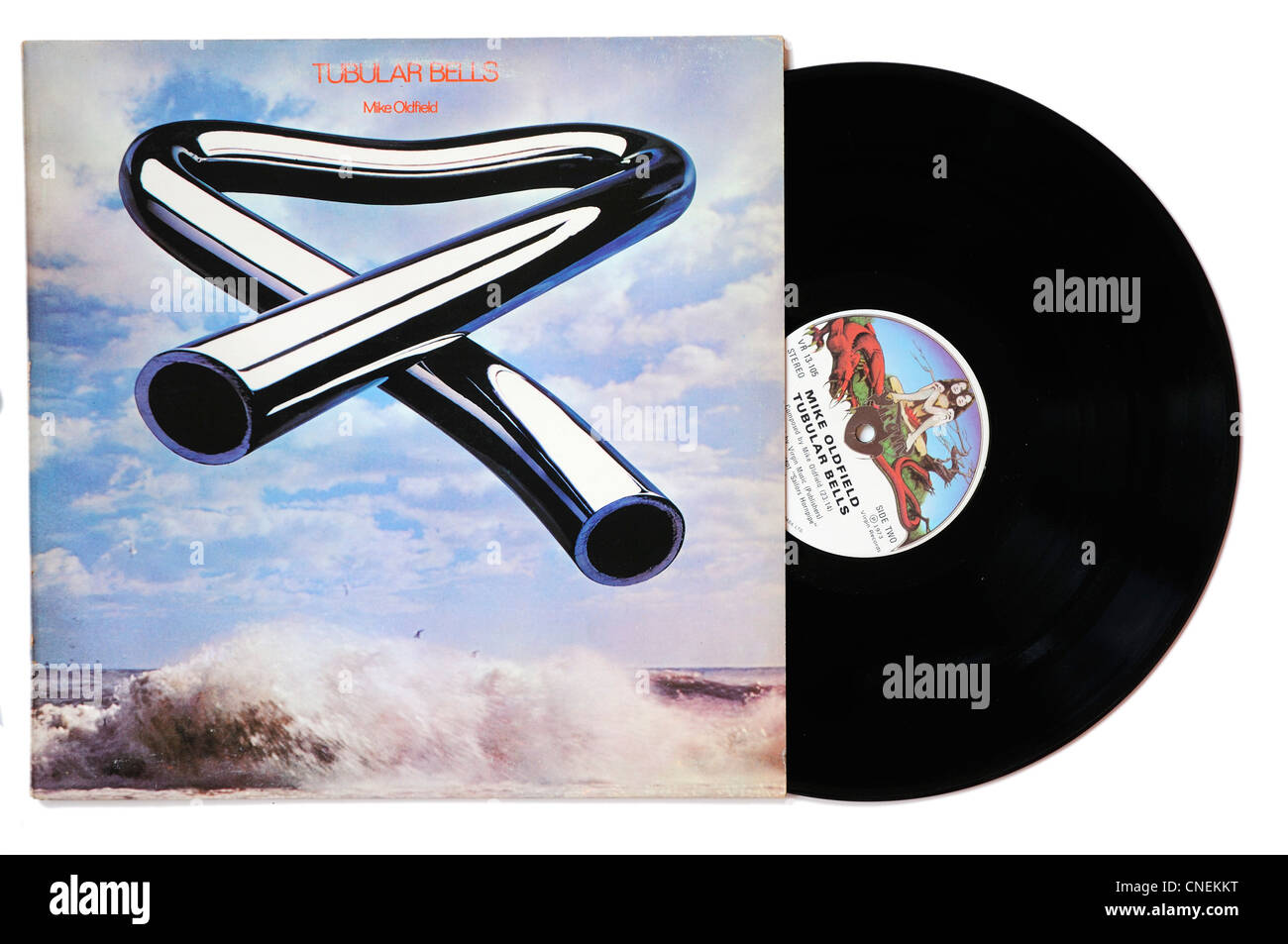 Mike Oldfield Tubular Bells album - Stock Image