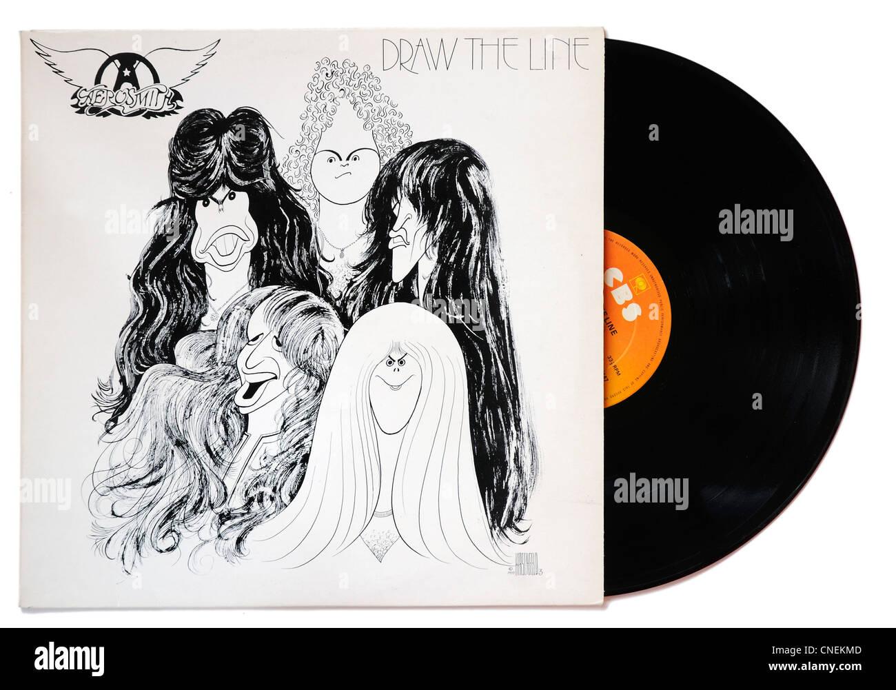 Aerosmith Draw The Line Album Stock Photo 47651309 Alamy
