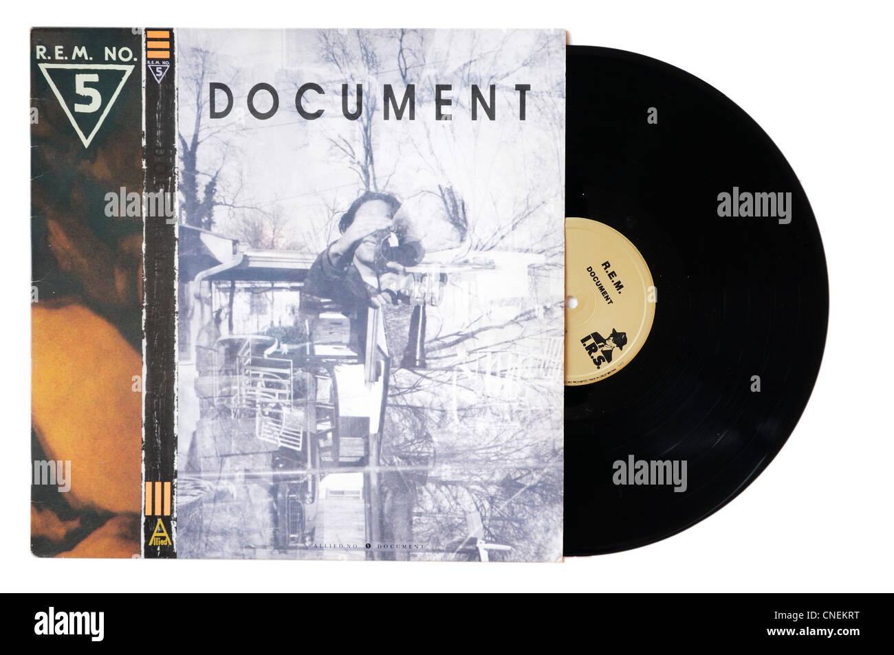 REM Document alpum - Stock Image