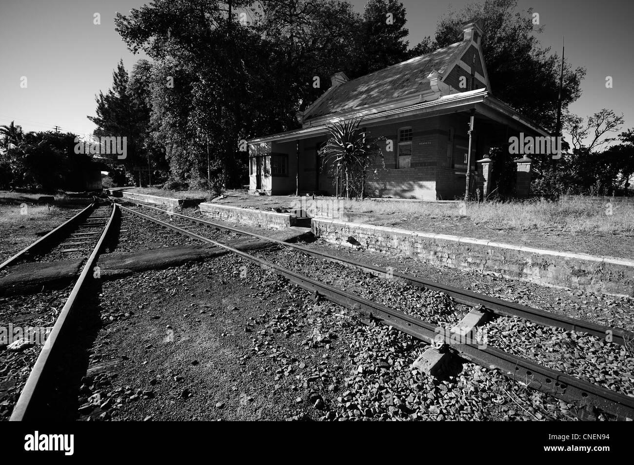 Bothas Hill railway station Stock Photo