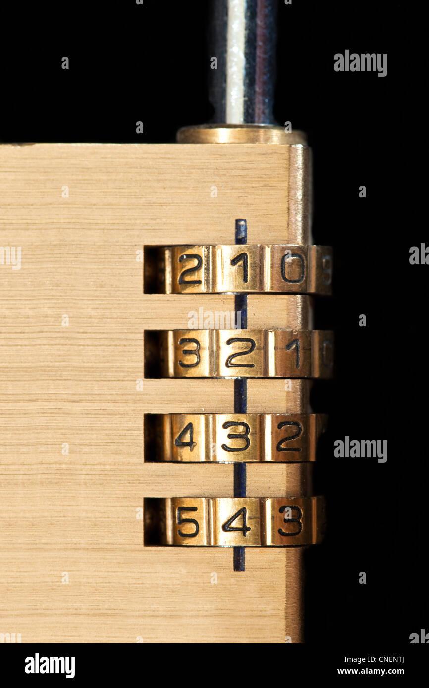 Close up of a Padlock - Stock Image