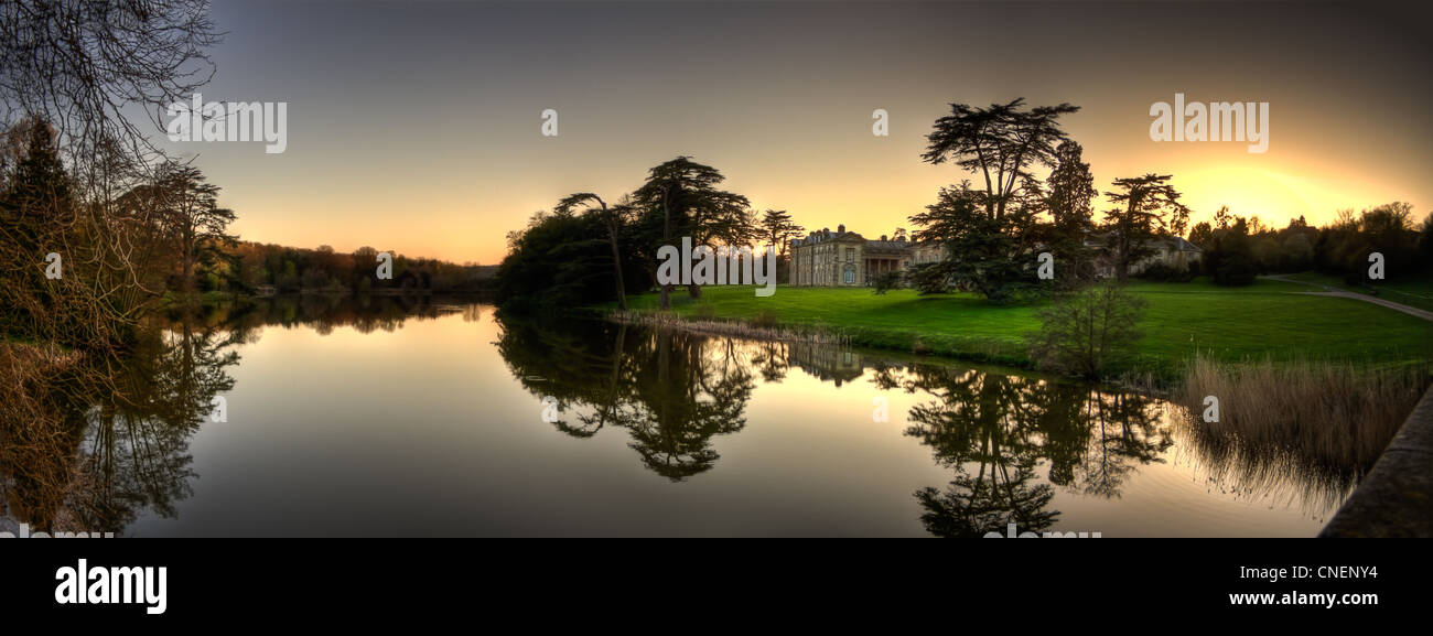 Compton Verney HDR Panorama - Stock Image