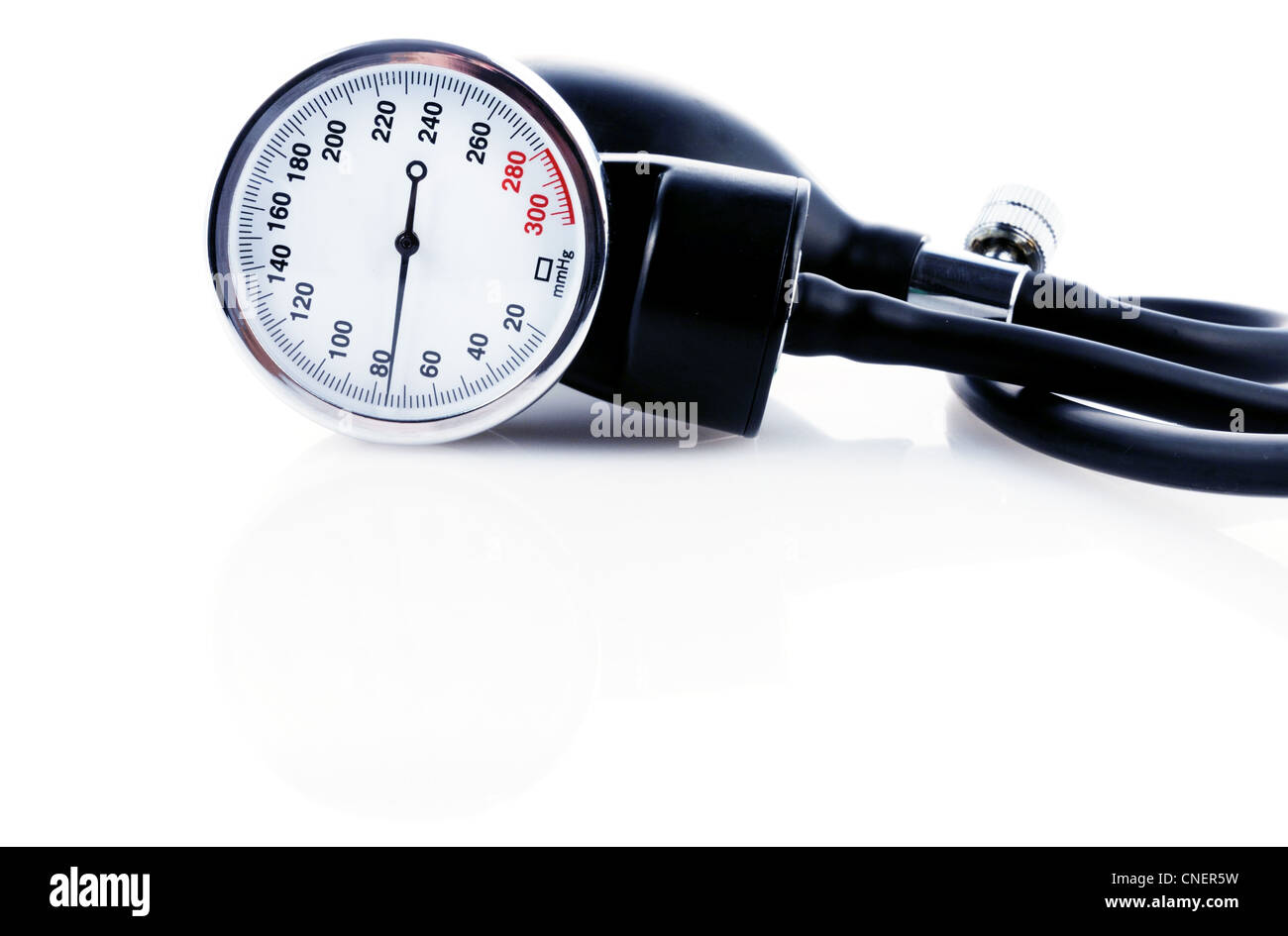 Medical tool for blood pressure measuring - Stock Image