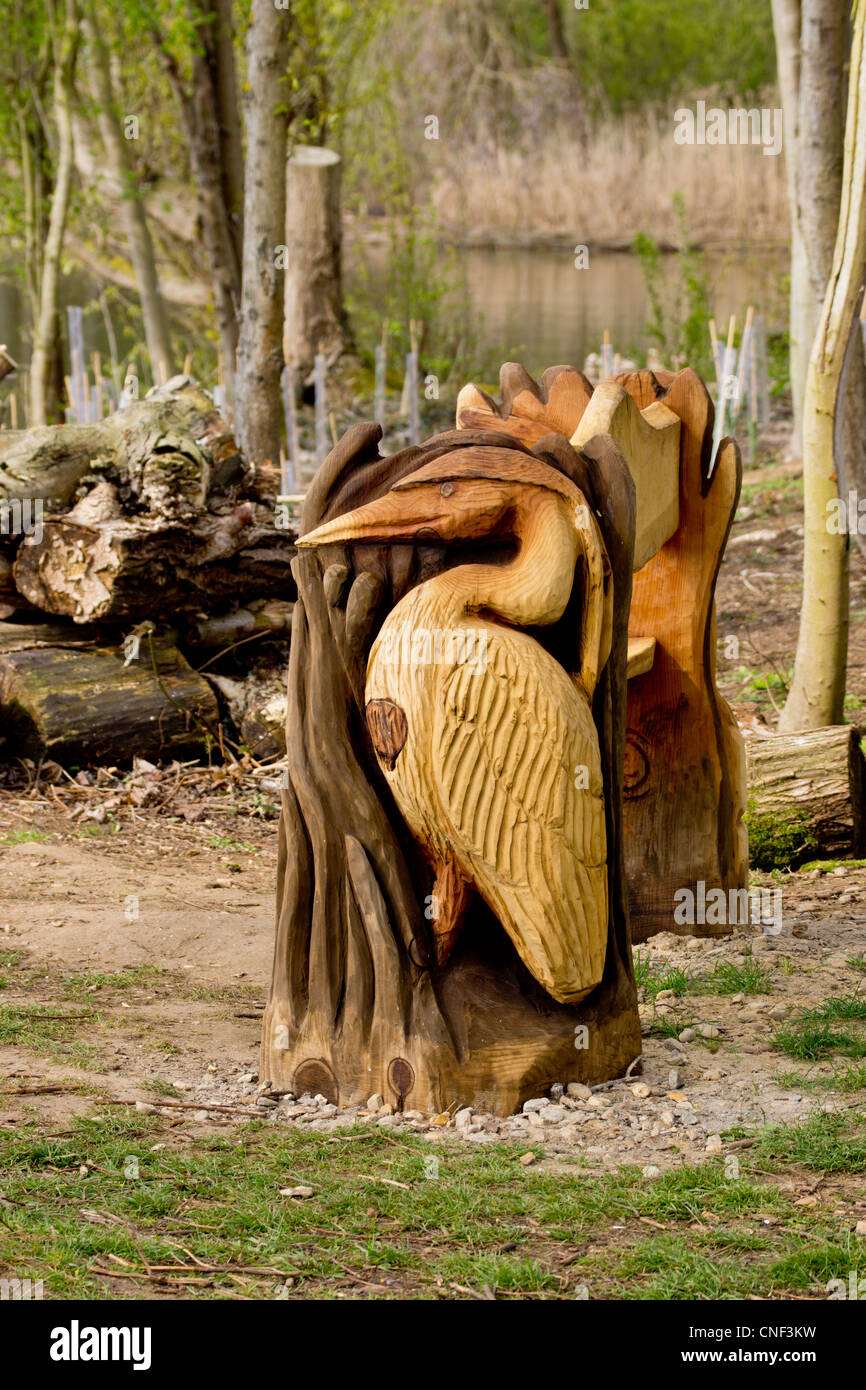 Heron Sculpture Stock Photos & Heron Sculpture Stock Images - Alamy