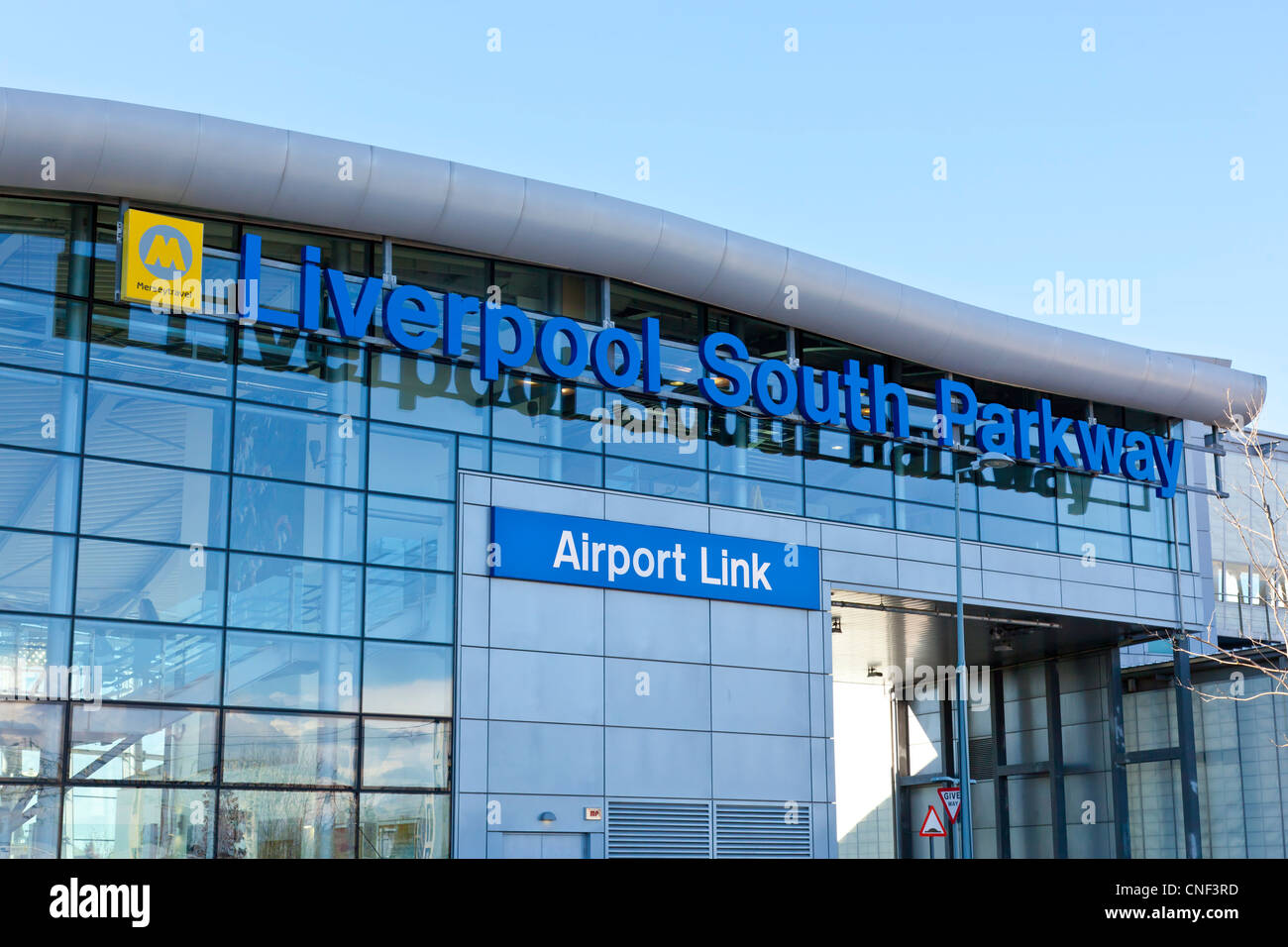 Liverpool South Parkway Station, Garston, Liverpool - Stock Image