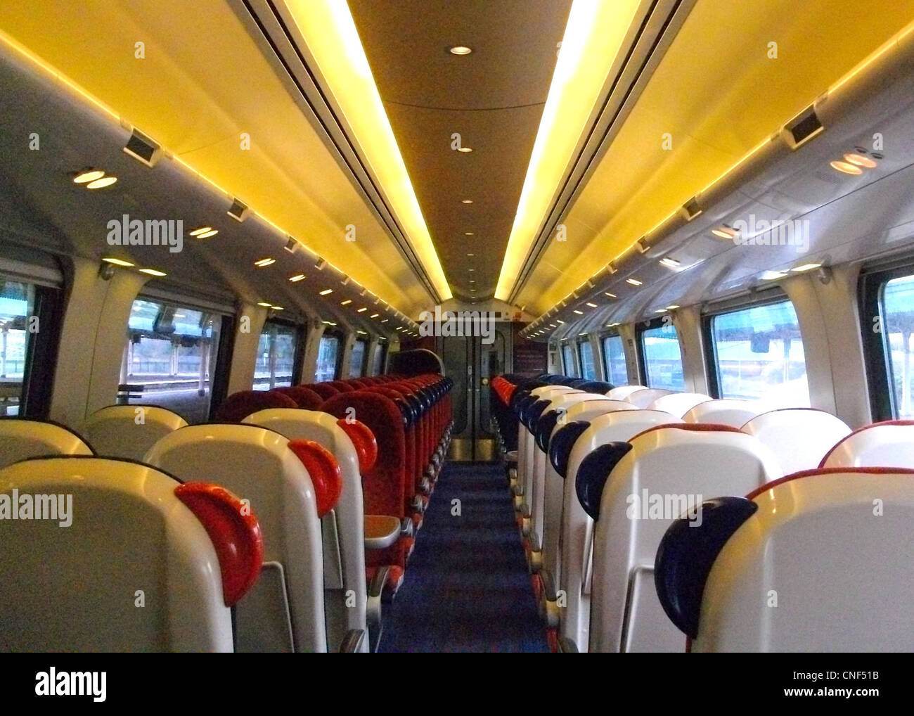 The Interior Of Standard Class In A Mso Vehicle Aboard A