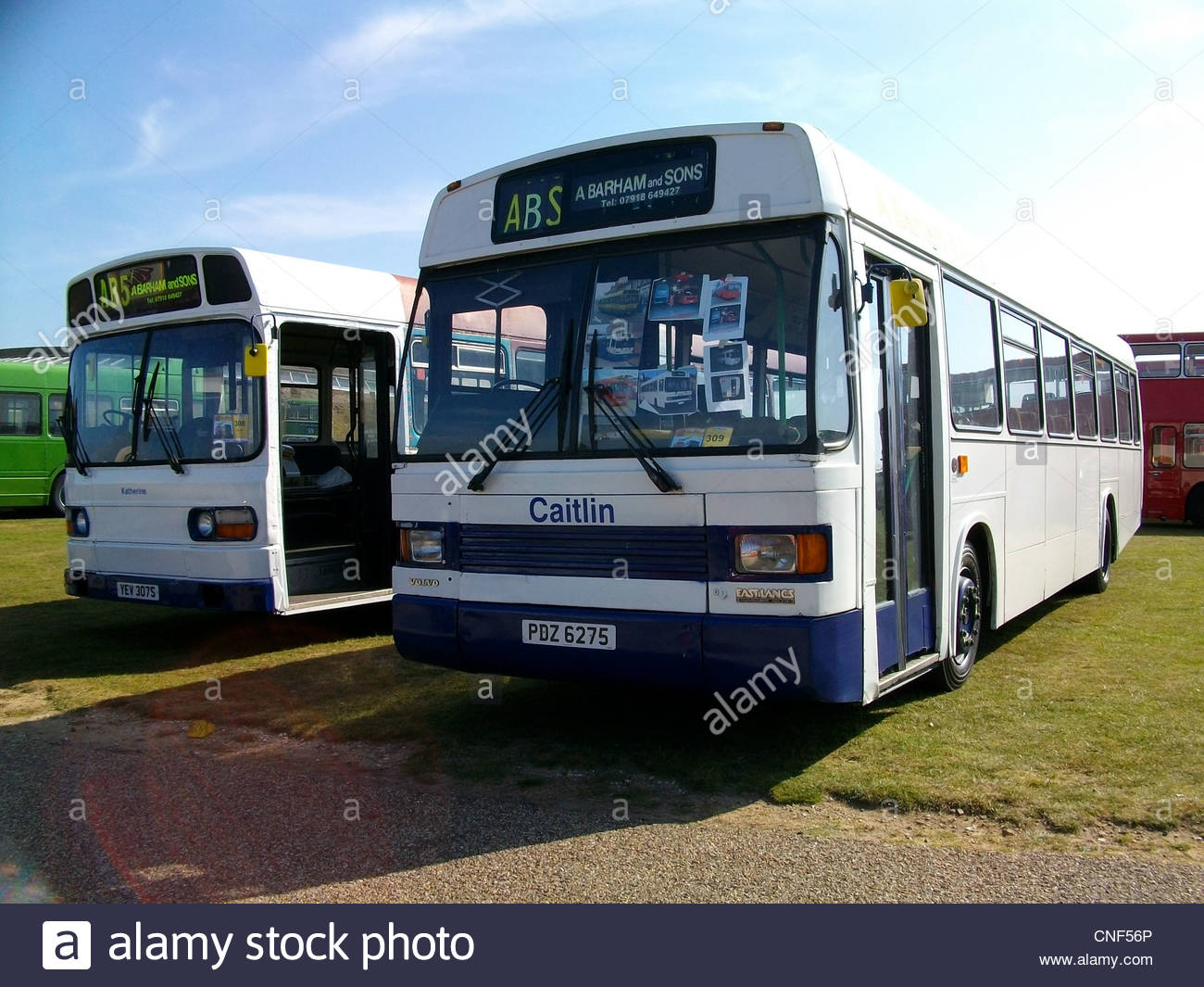 Preserved Volvo THD102 powered National Greenway 'Catlin' at Showbus 2009, Imperial War Museum, Duxford. - Stock Image