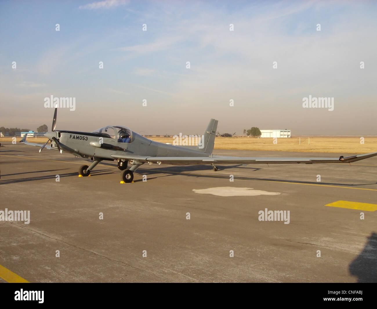Schweizer SA2-37B in Sta. Lucia AFB - Stock Image