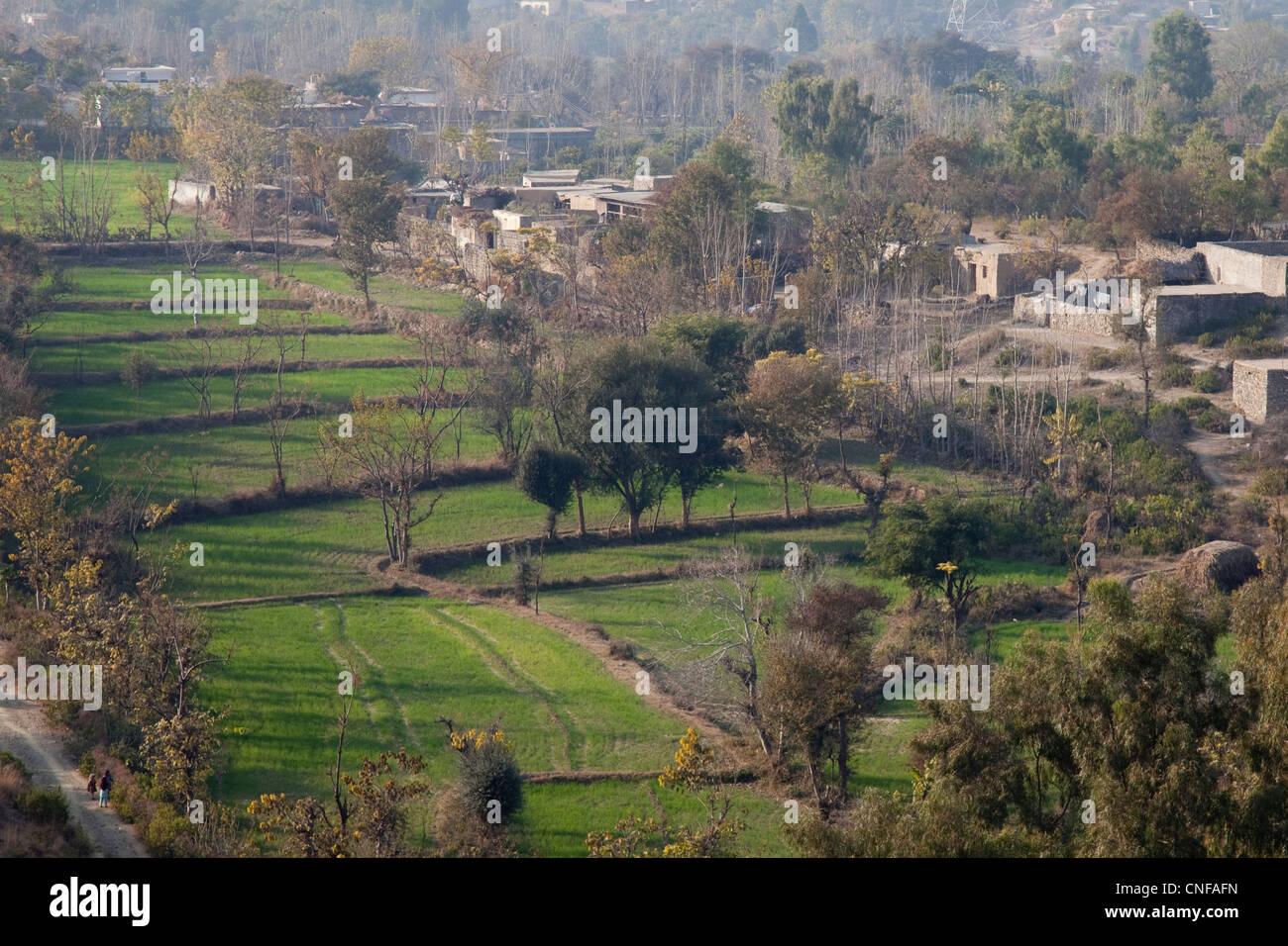 Punjab Pakistan Village Stock Photos Punjab Pakistan