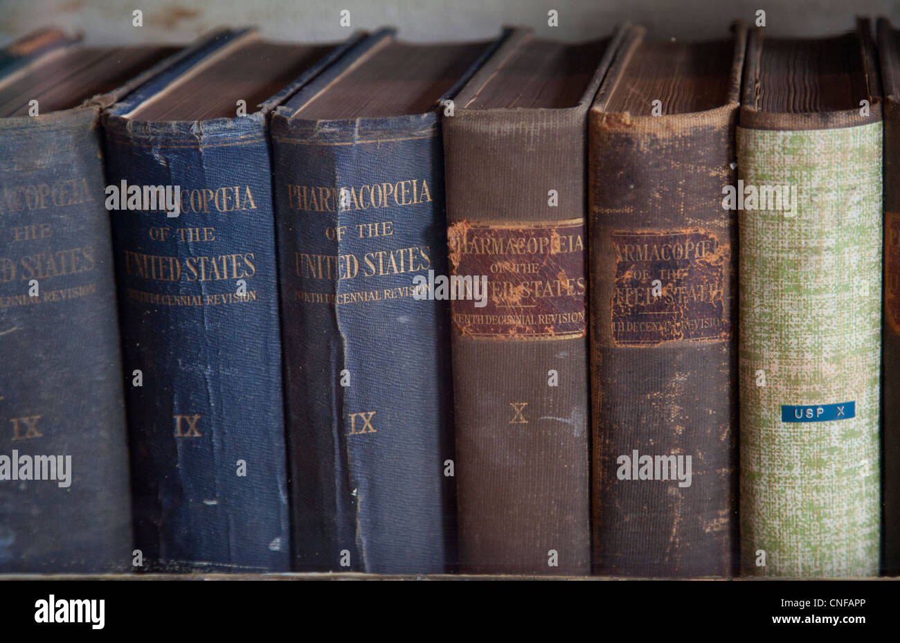 Stabler-Leadbeater Apothecary Museum in Old Town Alexandria Virginia Stock Photo
