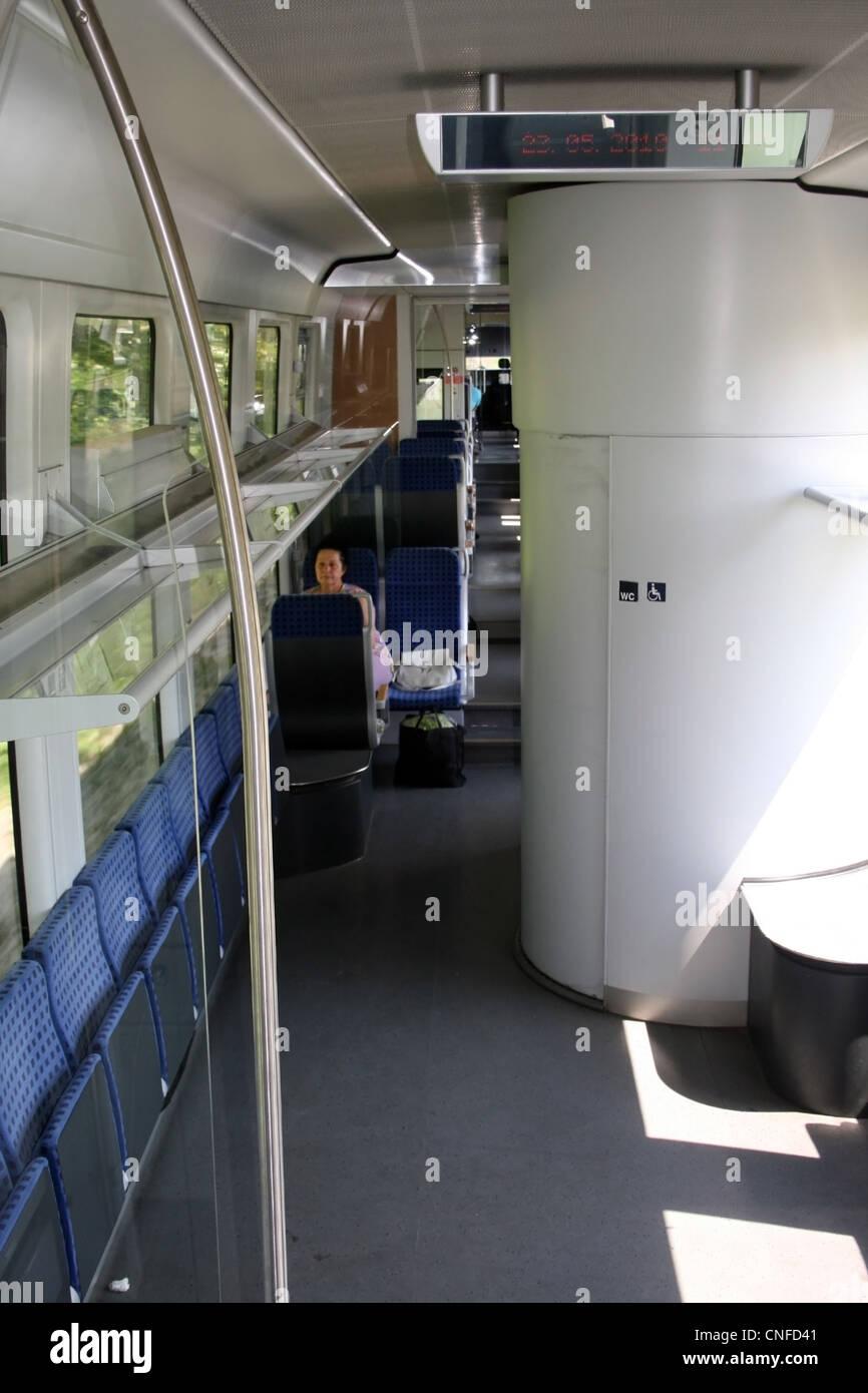 Siemens Desiro inside Stock Photo