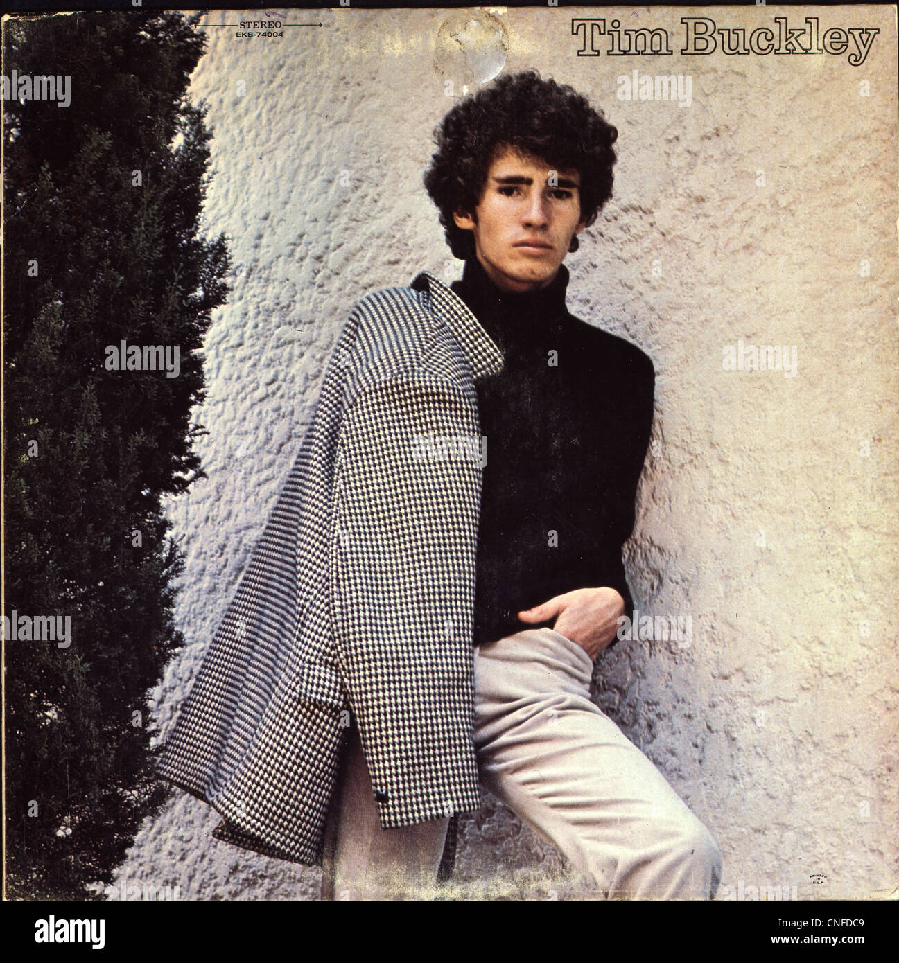 Cover of Tim Buckley's first album 'Tim Buckley', released in 1966.  Photo Courtesy Granamour Weems - Stock Image