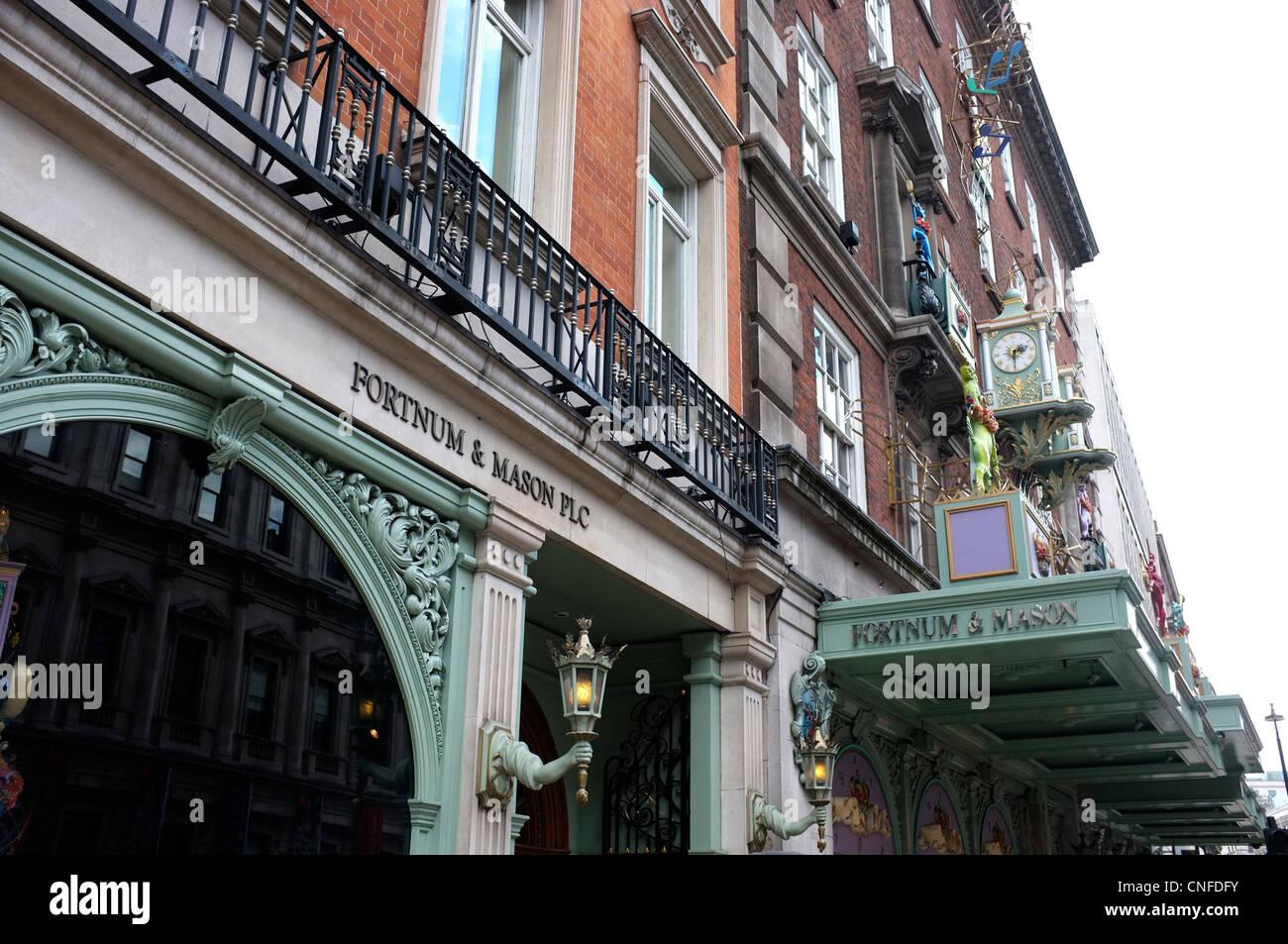 fortnum and mason emporium piccadilly london uk 2012 - Stock Image
