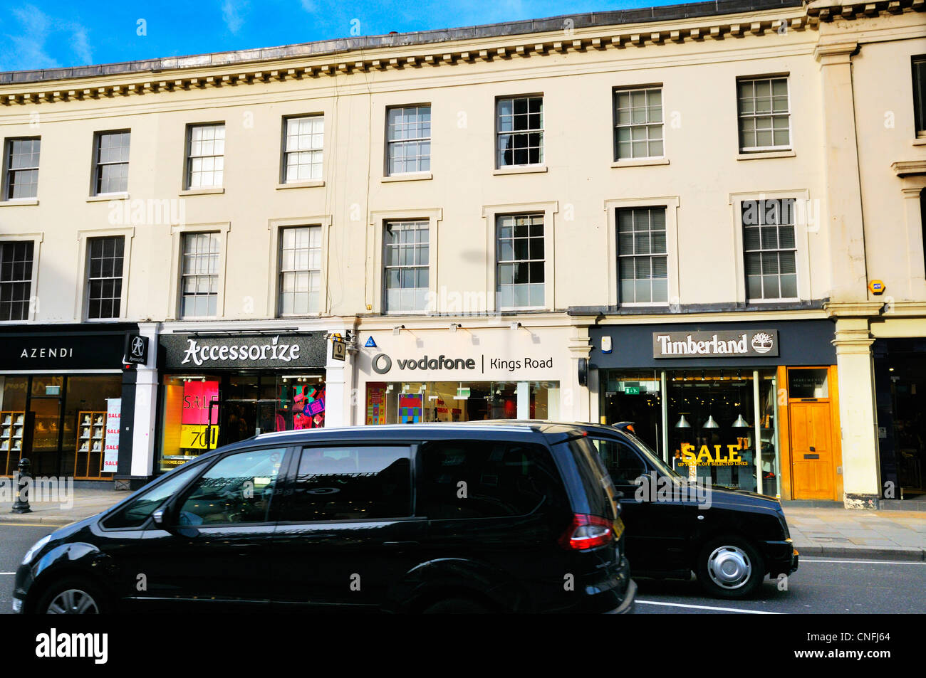 King's road, Chelsea, London, SW3 - Stock Image