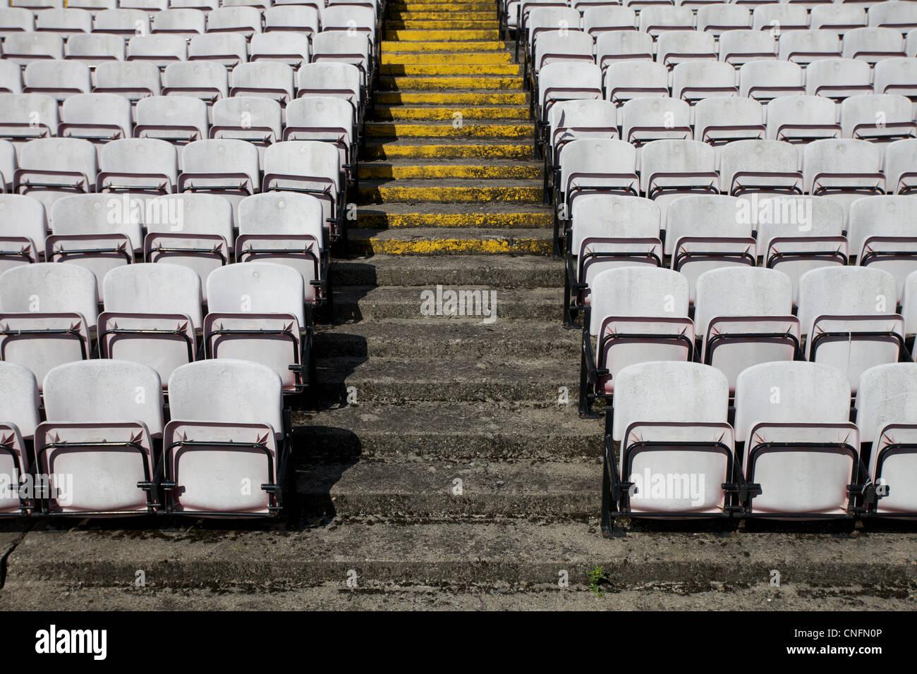 Dalymount Park football stadium in Dublin, Ireland. - Stock Image