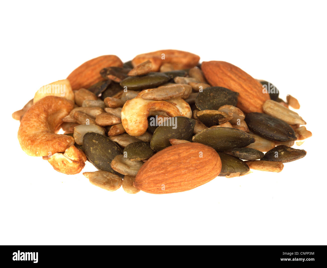 Seed and Nut Mix - Stock Image
