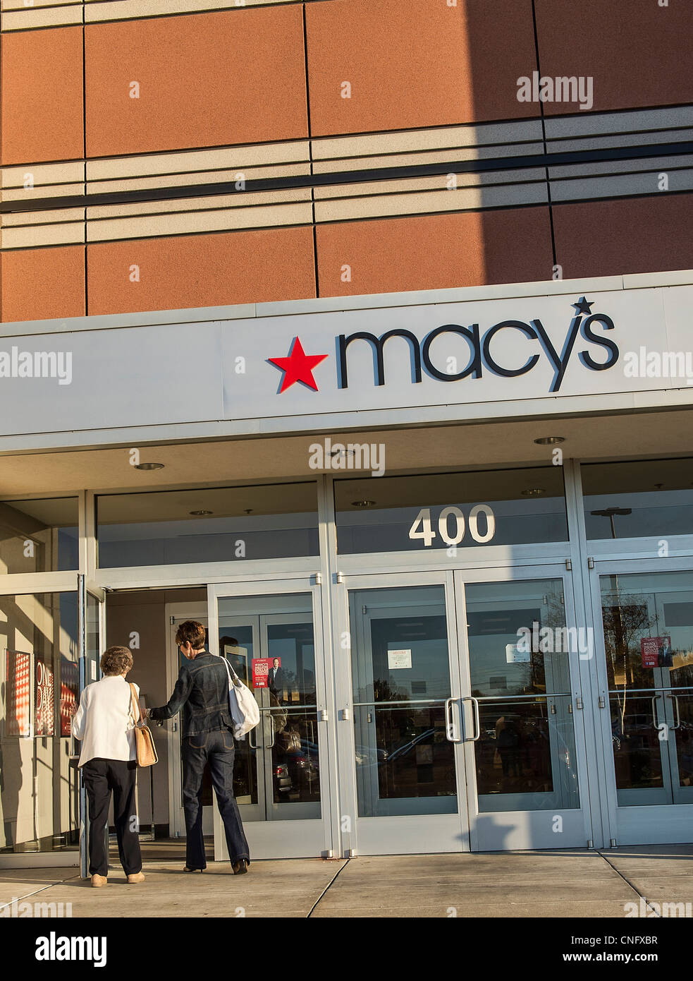 Macy's Deparment store. - Stock Image