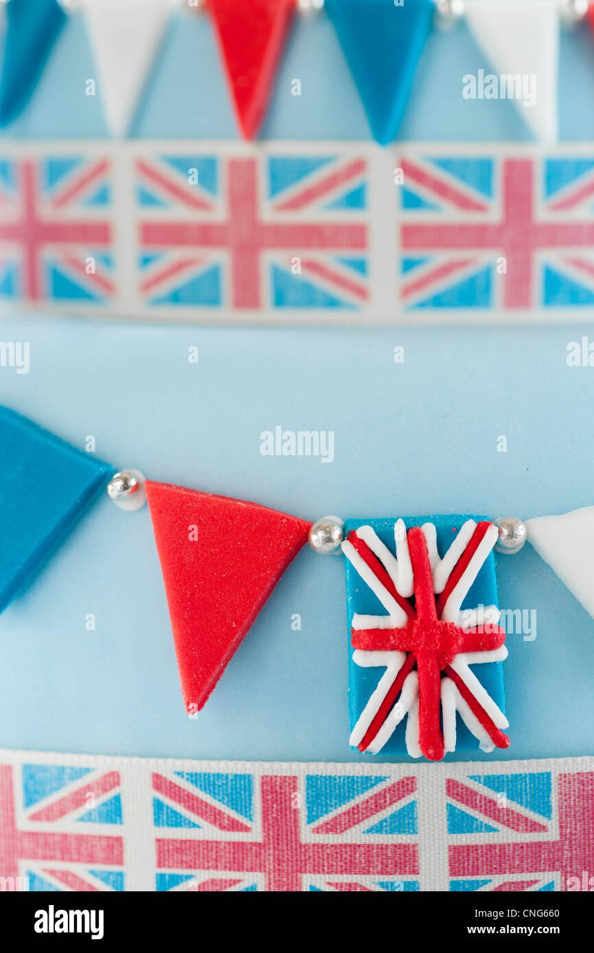 Jubilee Cake - Stock Image