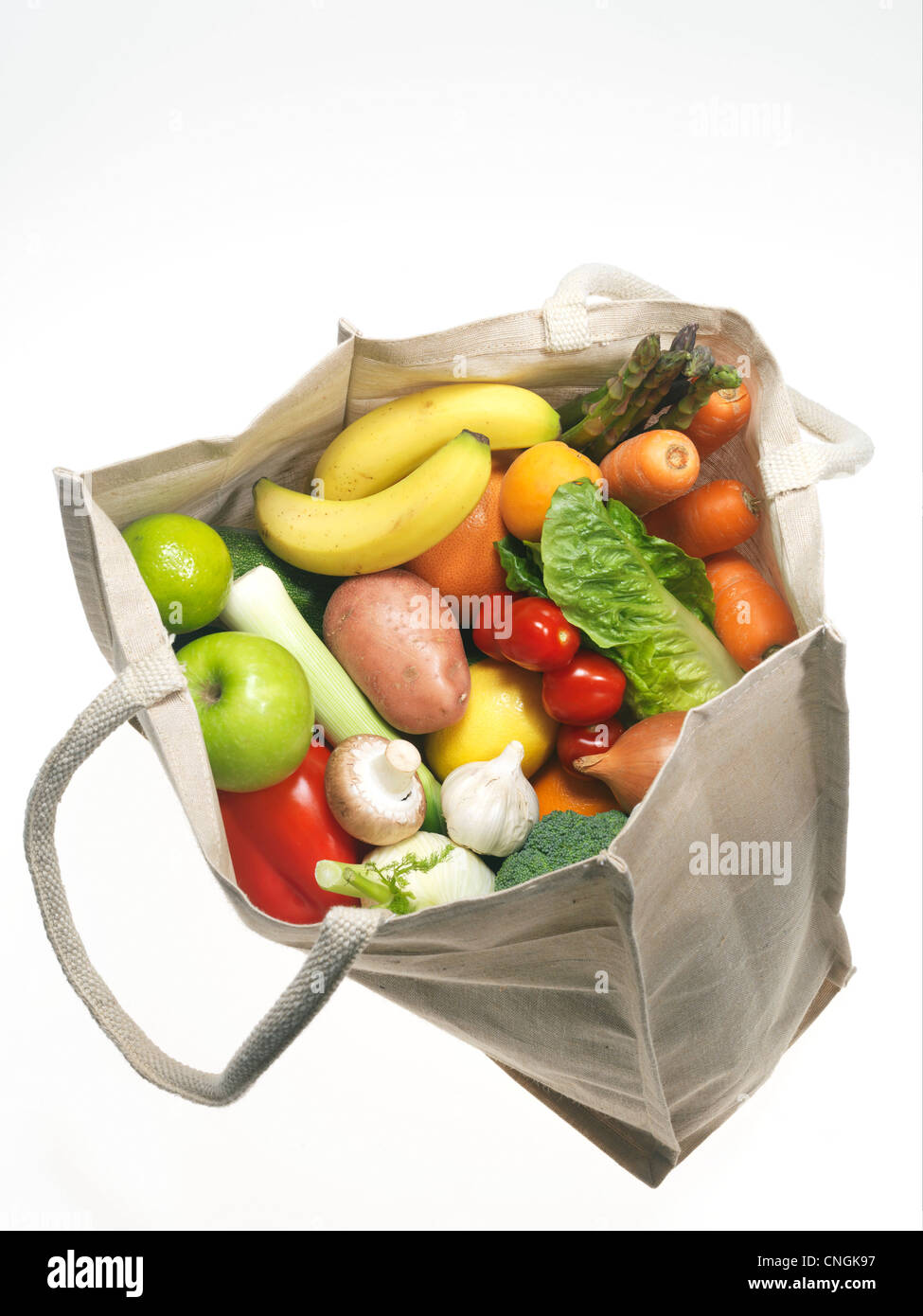Fruit and vegetables - Stock Image