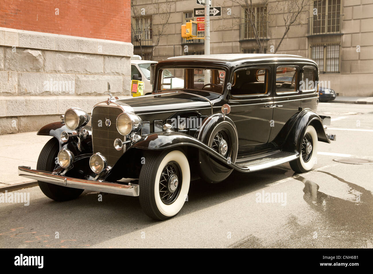 1932 Cadillac V12 Limousine. - Stock Image