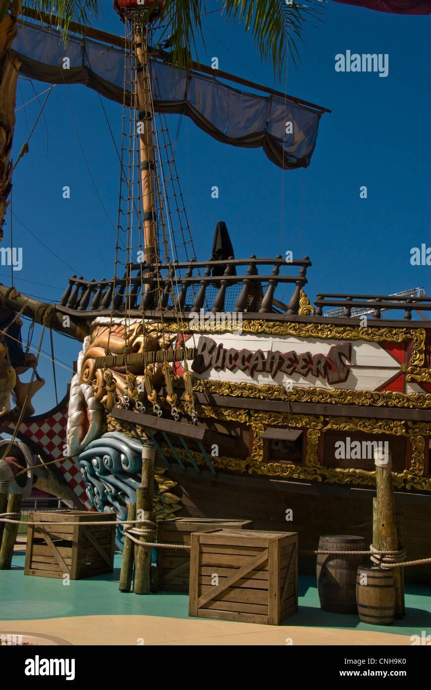 tampa bay pirate ship