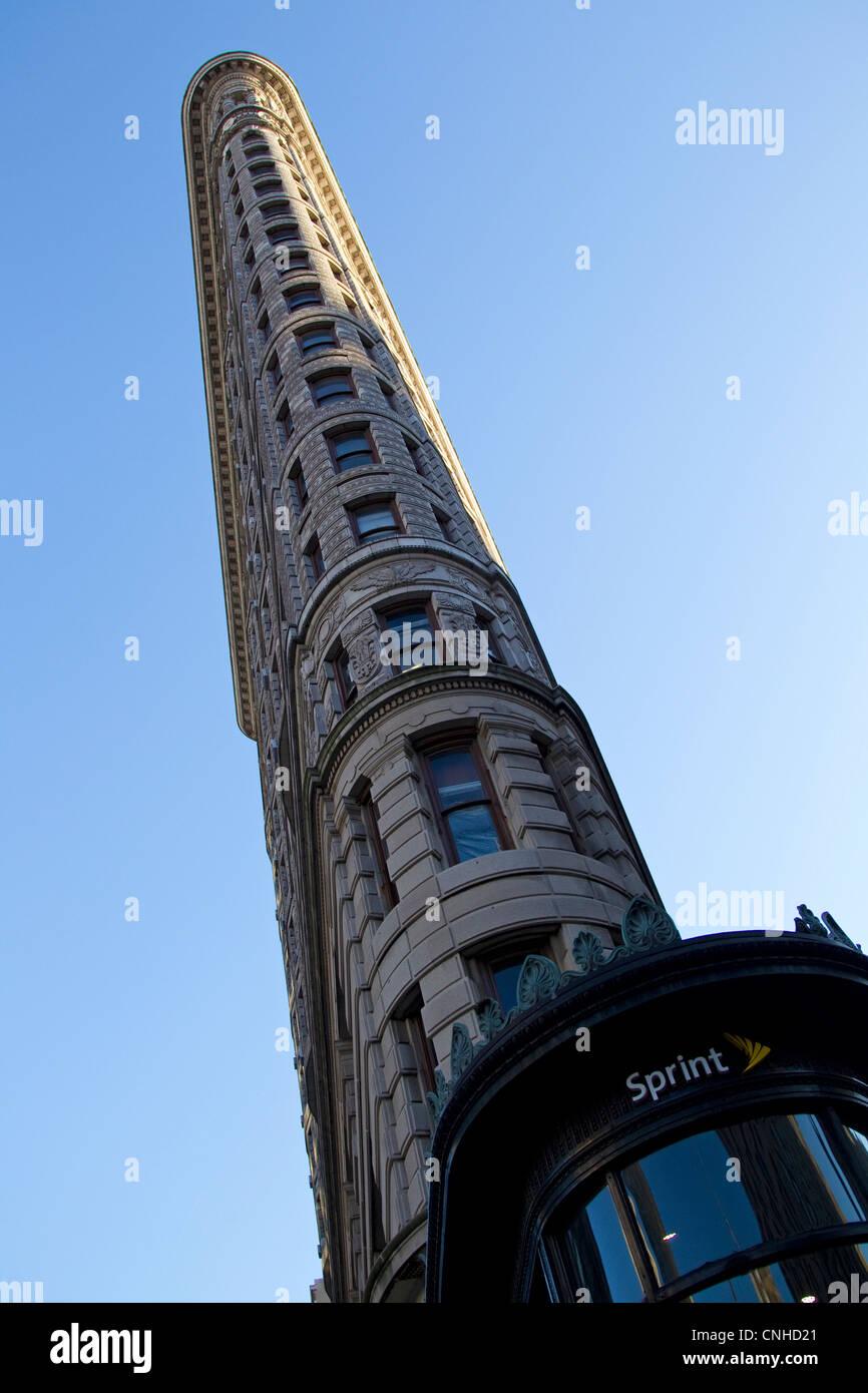 Flatiron Building, New York City, NYC - Stock Image