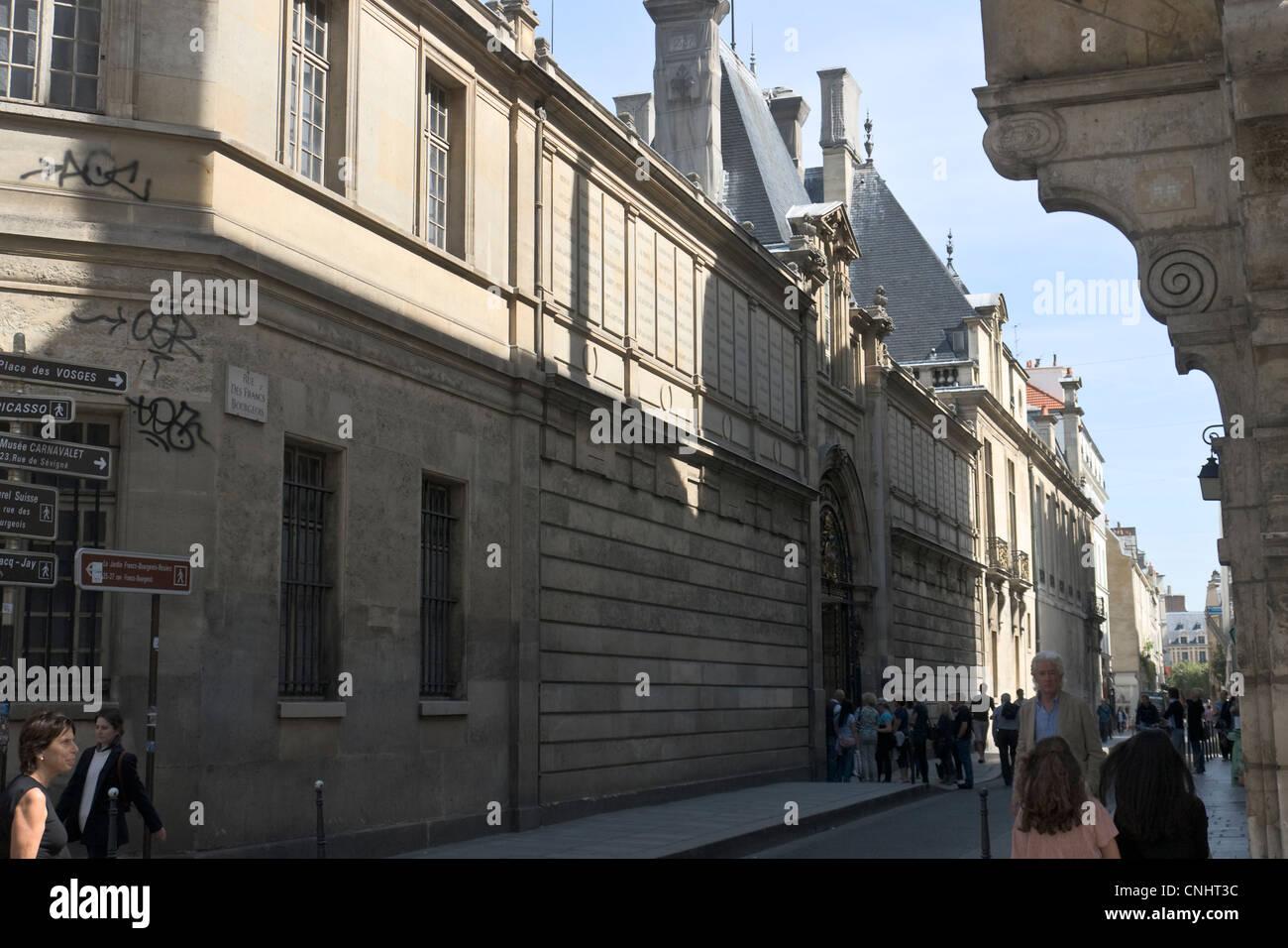 Hôtel Carnavalet - Stock Image
