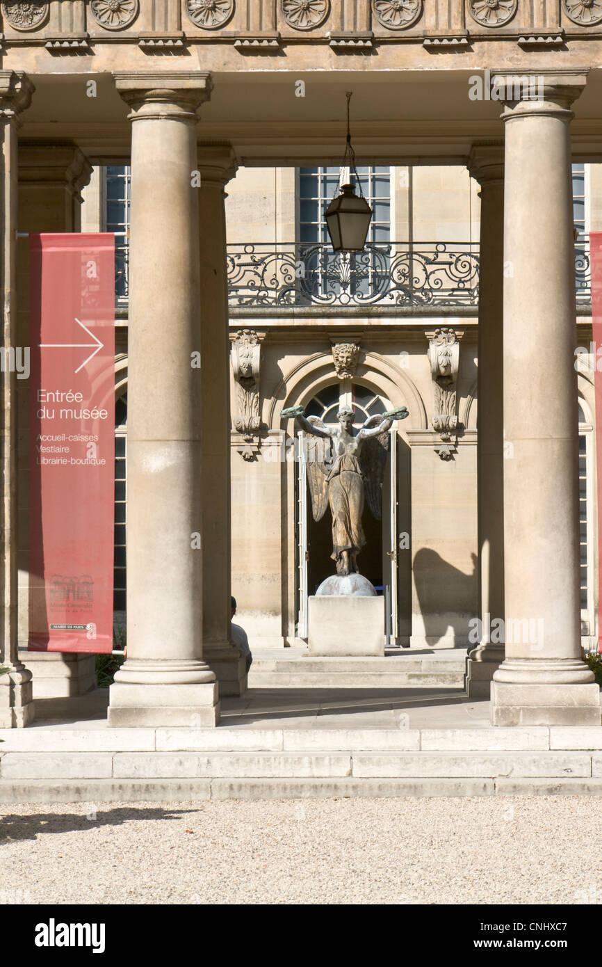 Hôtel Carnavalet, court - Stock Image