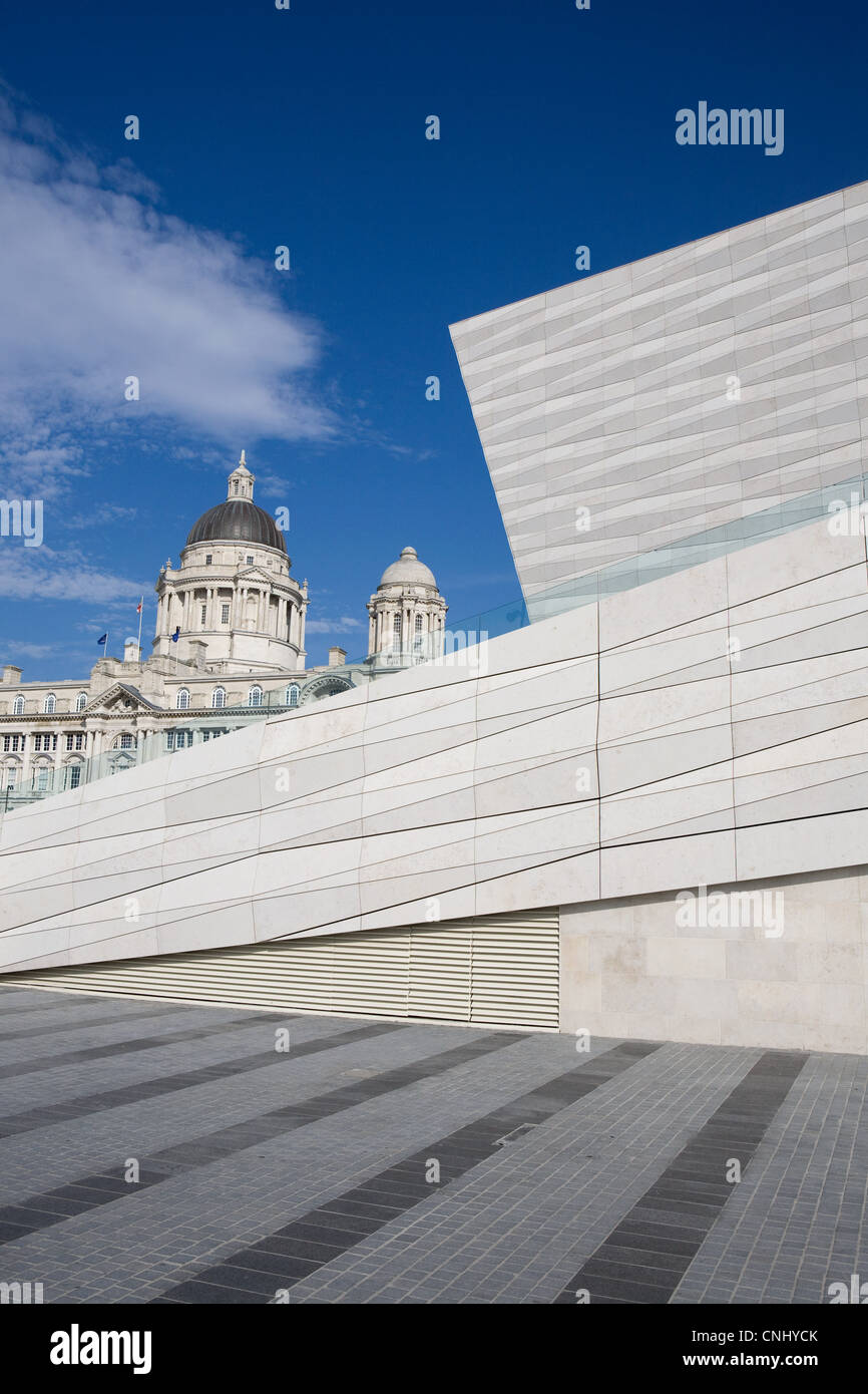 Museum of Liverpool and Port of Liverpool Building, Liverpool, UK - Stock Image