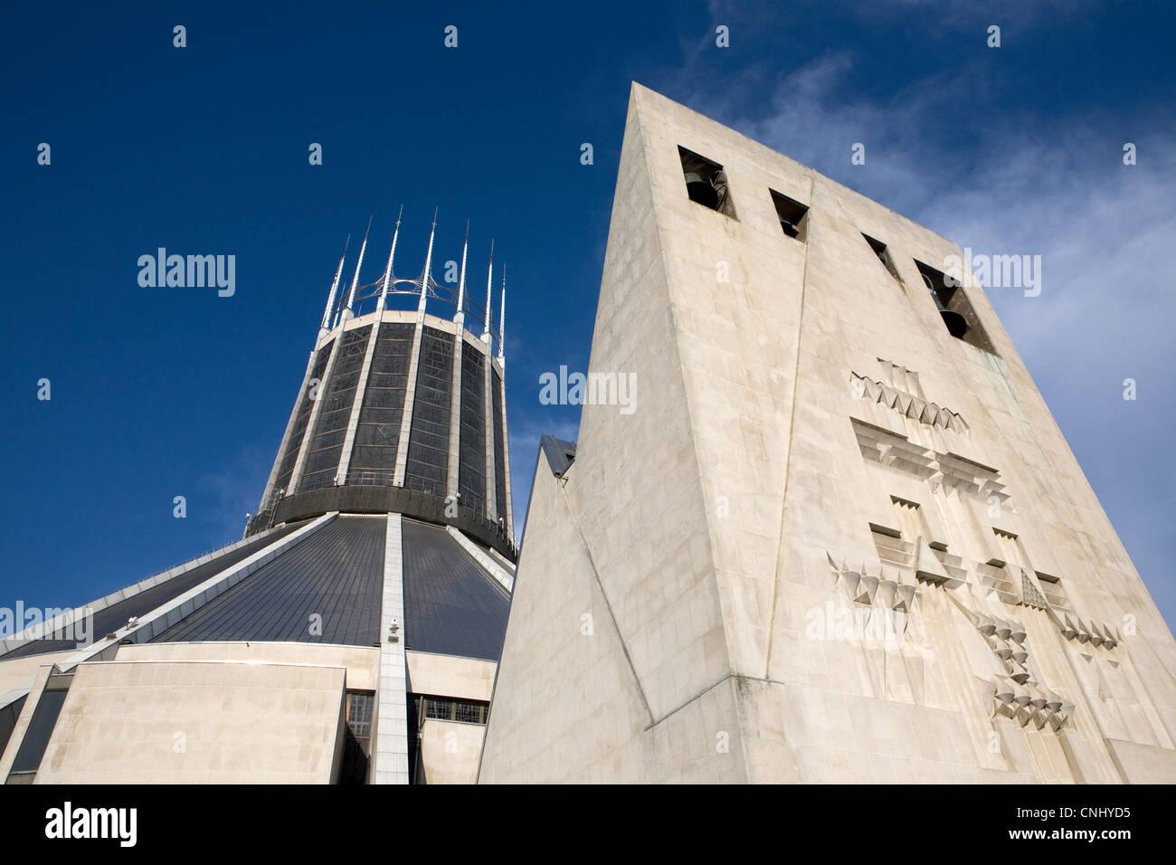 Liverpool Metropolitan Cathedral, Liverpool, UK - Stock Image
