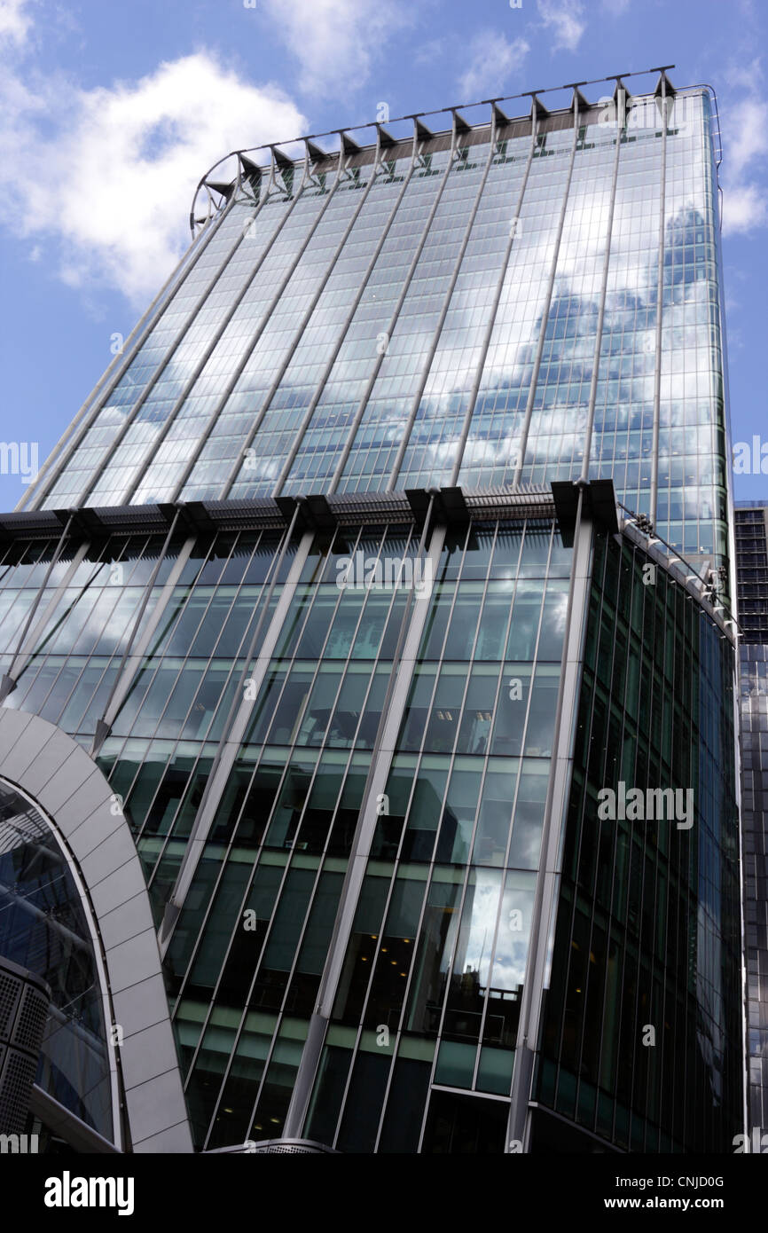 Citypoint an office block in Ropemaker Street in the heart of the City of London. - Stock Image