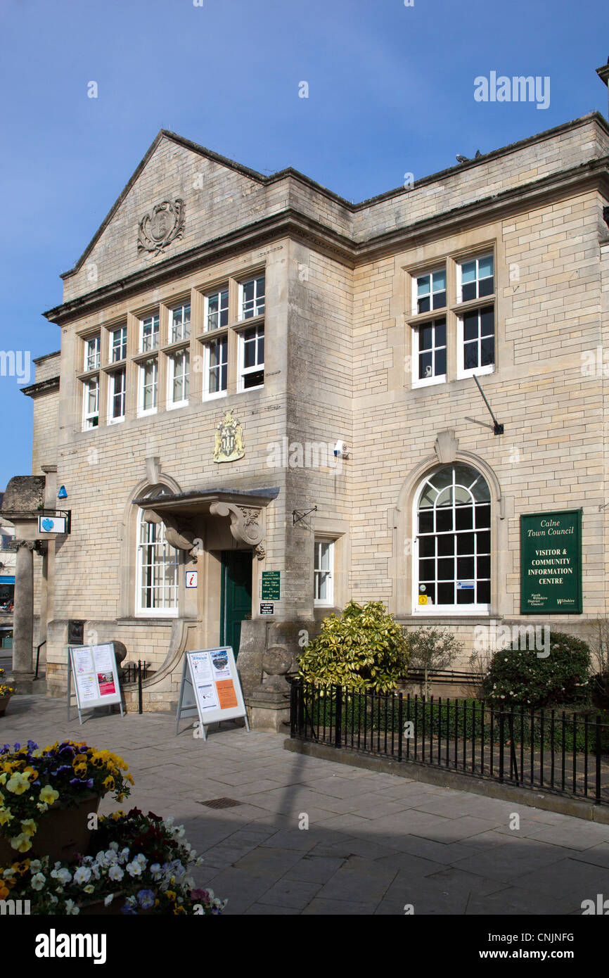 Calne Town Council Visitor and Community Information Centre - Stock Image