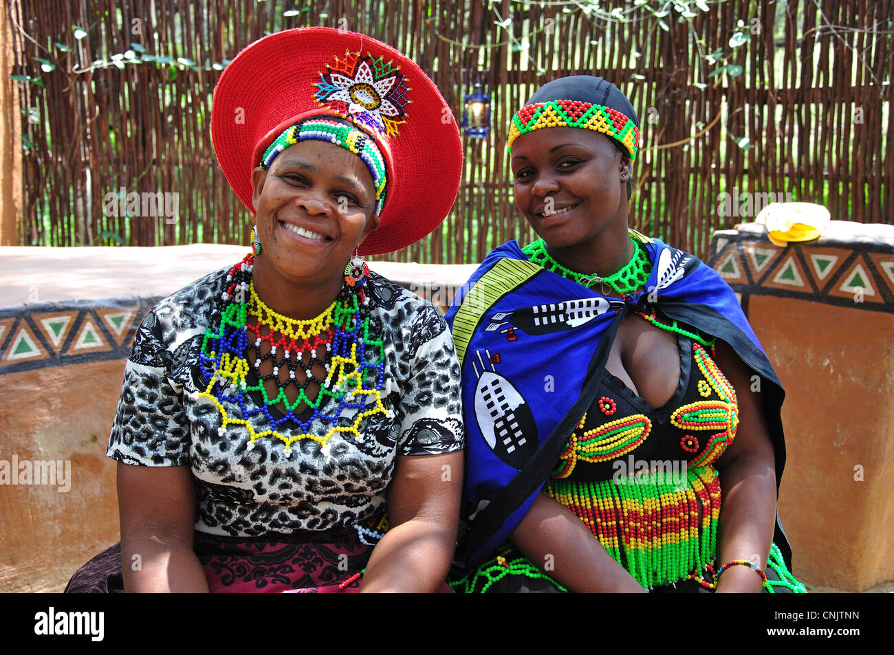 Zulu Women In Lesedi African Cultural Village