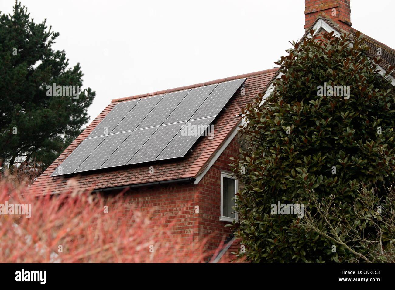 Photovoltaic Solar Energy Panels - Stock Image