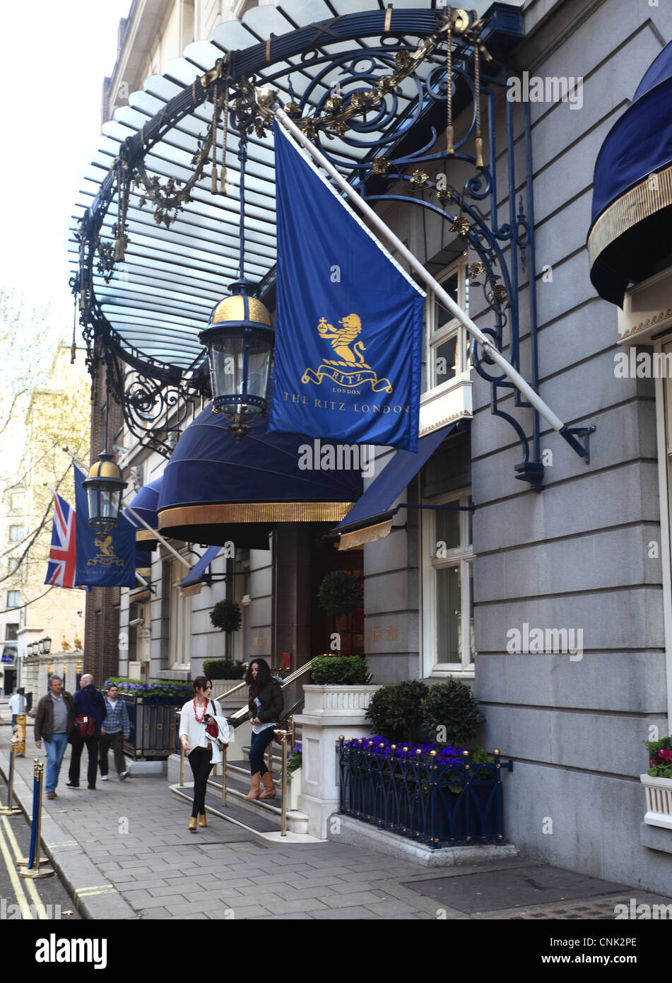 The Ritz Hotel London - Stock Image