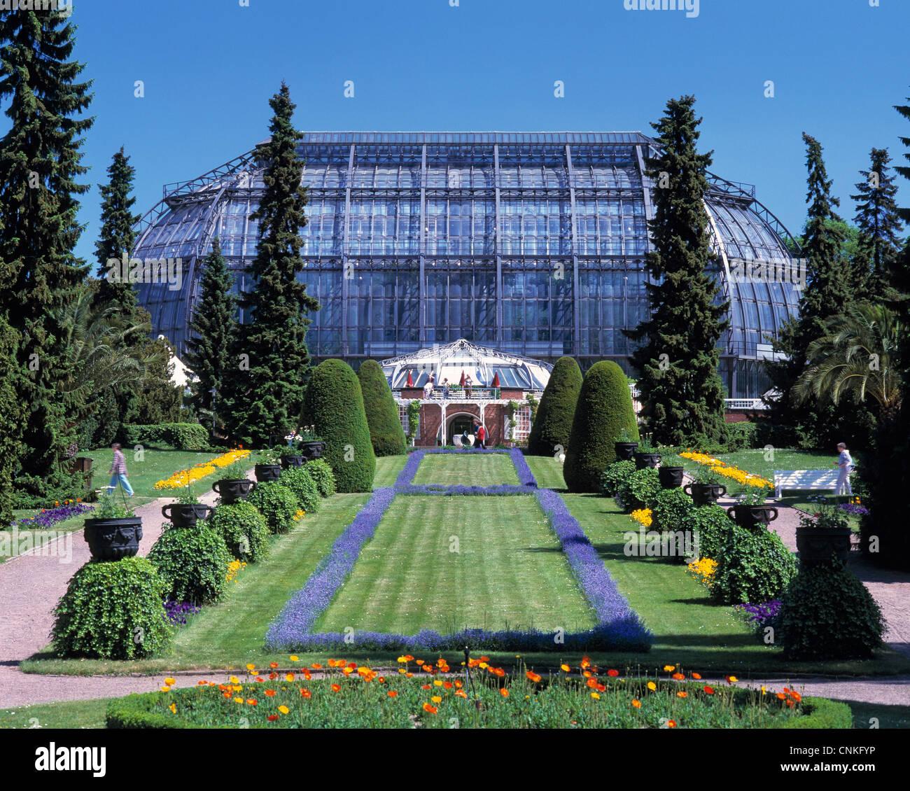 Botanischer Garten Und Botanisches Museum Berlin Dahlem Stock Photos