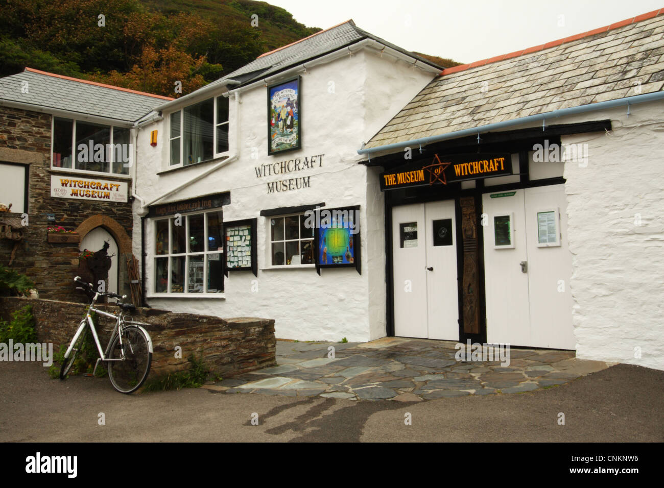 Witchcraft Museum, Boscastle, North Cornwall, United Kingdom - Stock Image