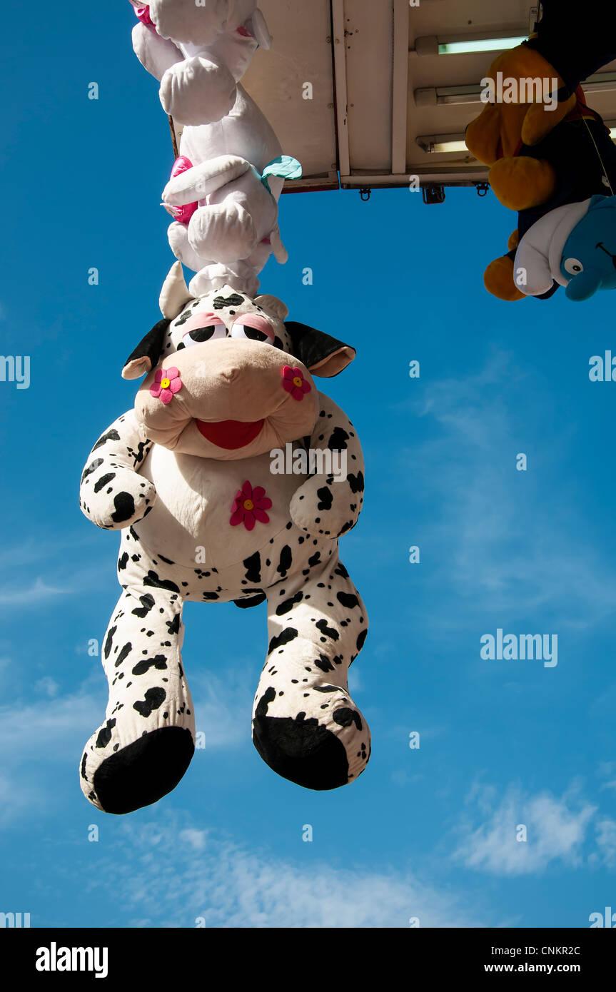 Soft toy prize. - Stock Image