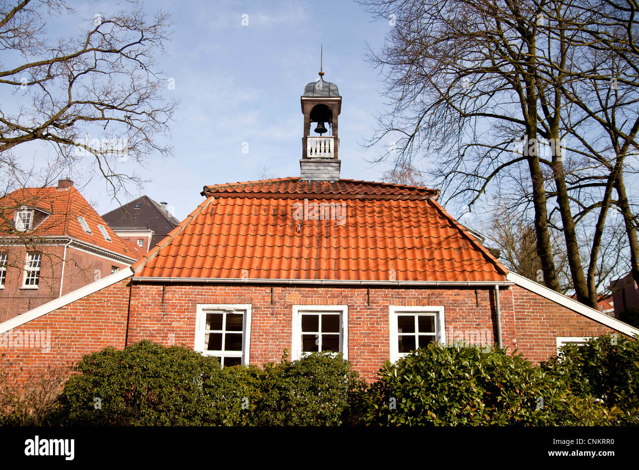 historic Pingelhus in Aurich, East Frisia, Lower Saxony, Germany - Stock Image