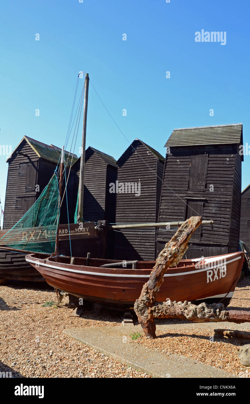 Fishing boats editorial photography. Image of hastings ...