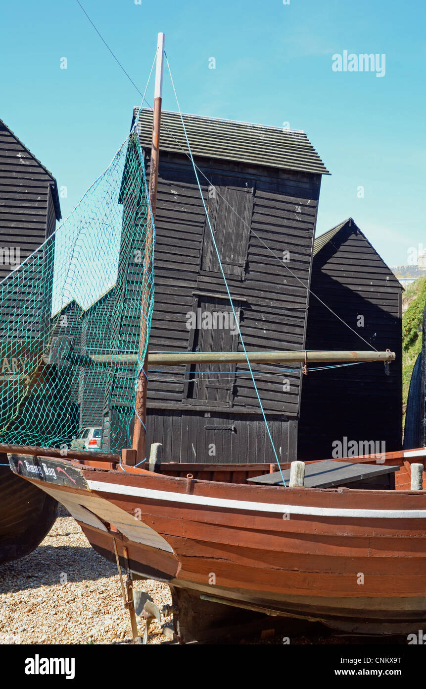 Fishing boats - Review of The Stade, Hastings, England ...