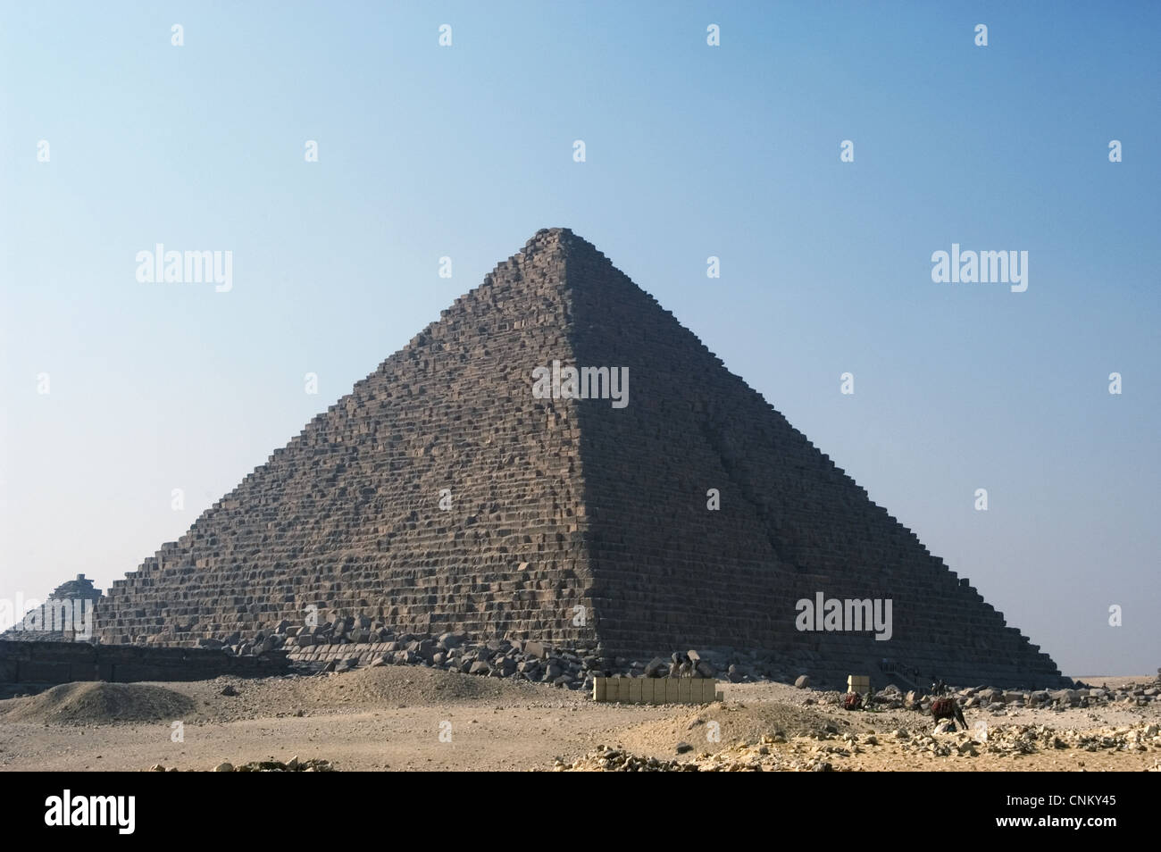 Egypt. The Great Pyramid of Gi...